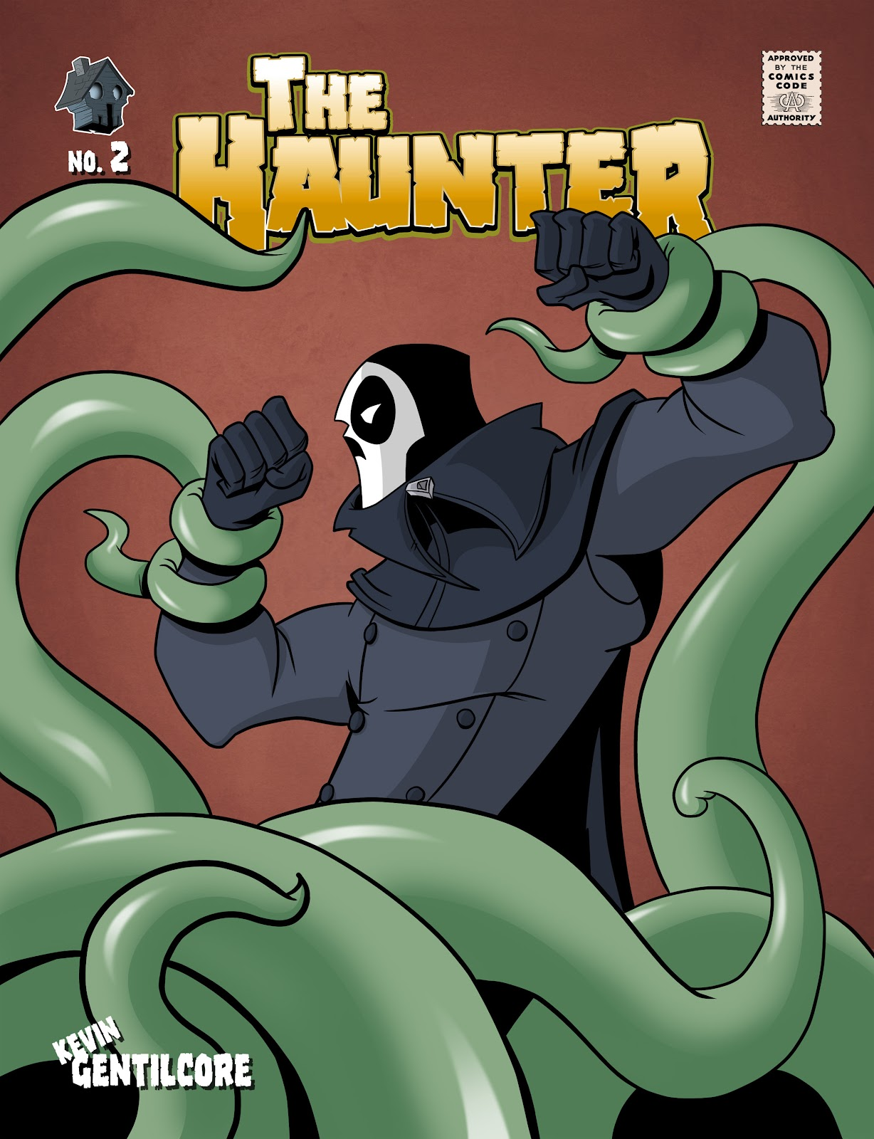 Read online The Haunter comic -  Issue #2 - 1