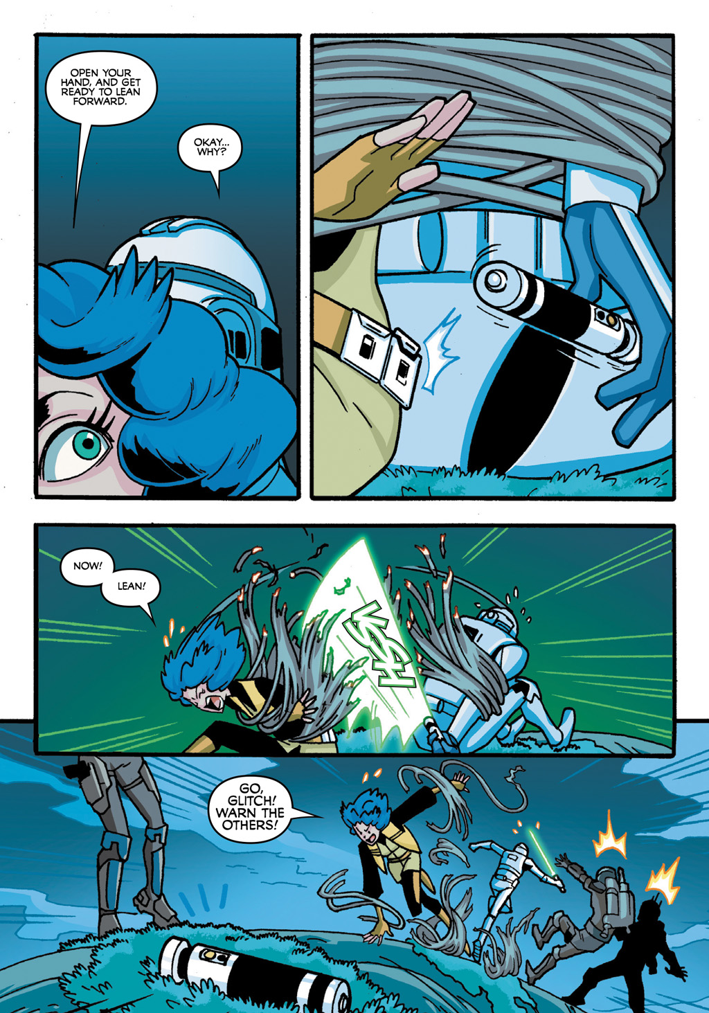 Read online Star Wars: The Clone Wars - Defenders of the Lost Temple comic -  Issue # Full - 50