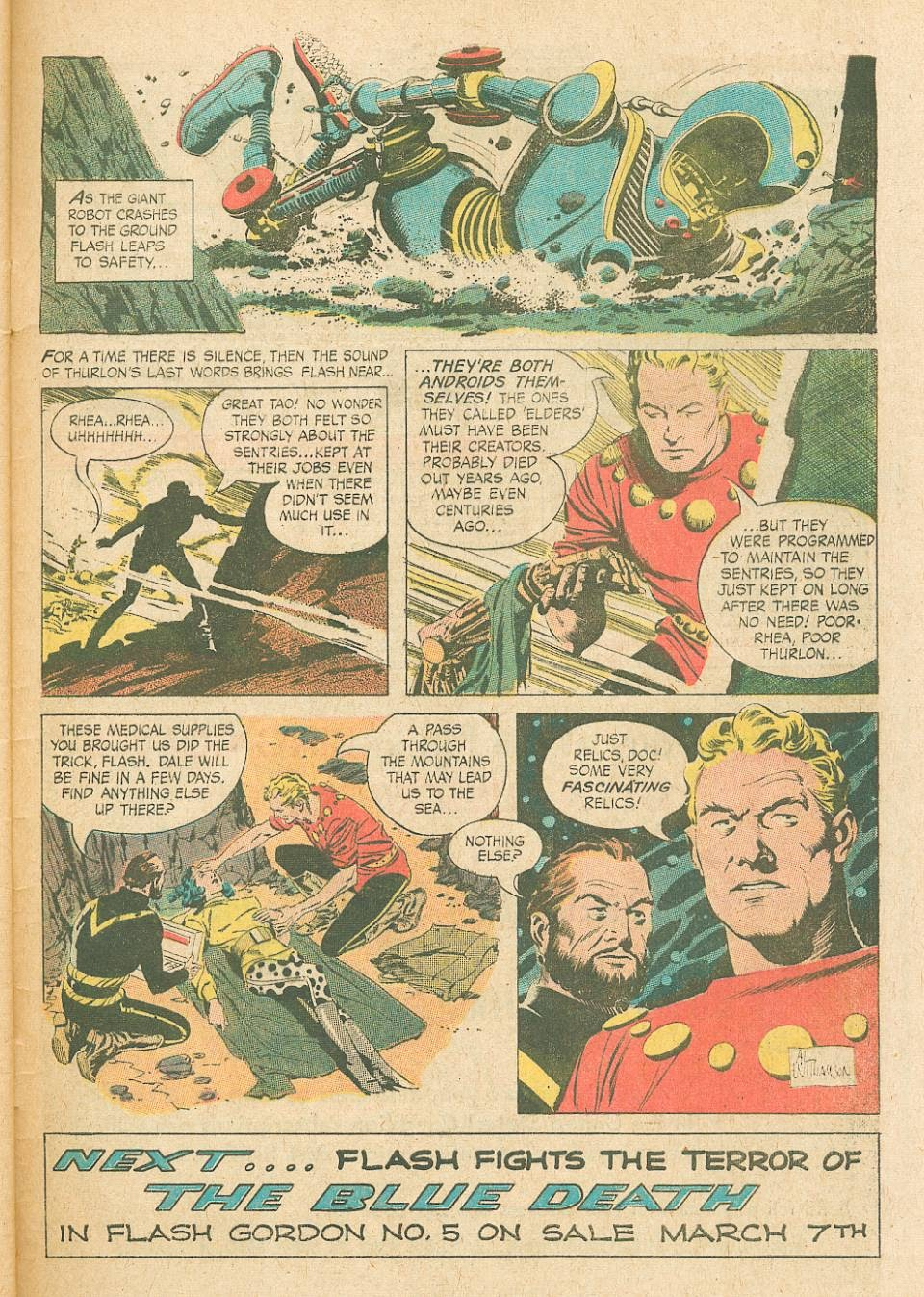 Flash Gordon (1966) issue 4 - Page 33