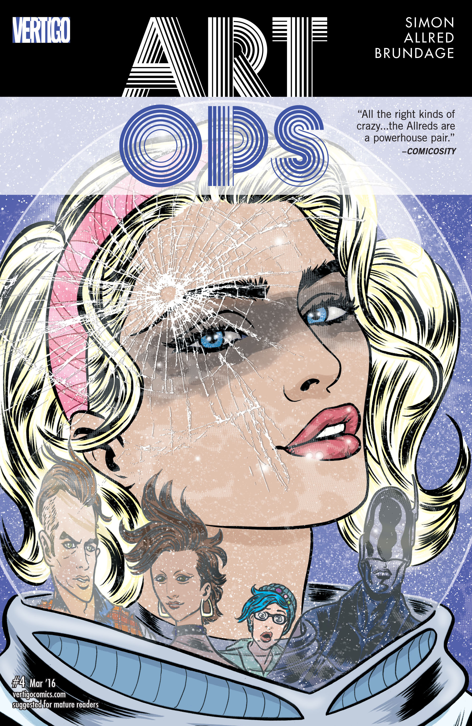 Read online Art Ops comic -  Issue #4 - 1