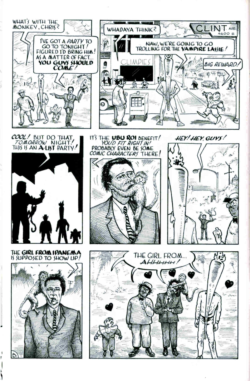 Read online Flaming Carrot & Reid Fleming, World's Toughest Milkman comic -  Issue # Full - 8