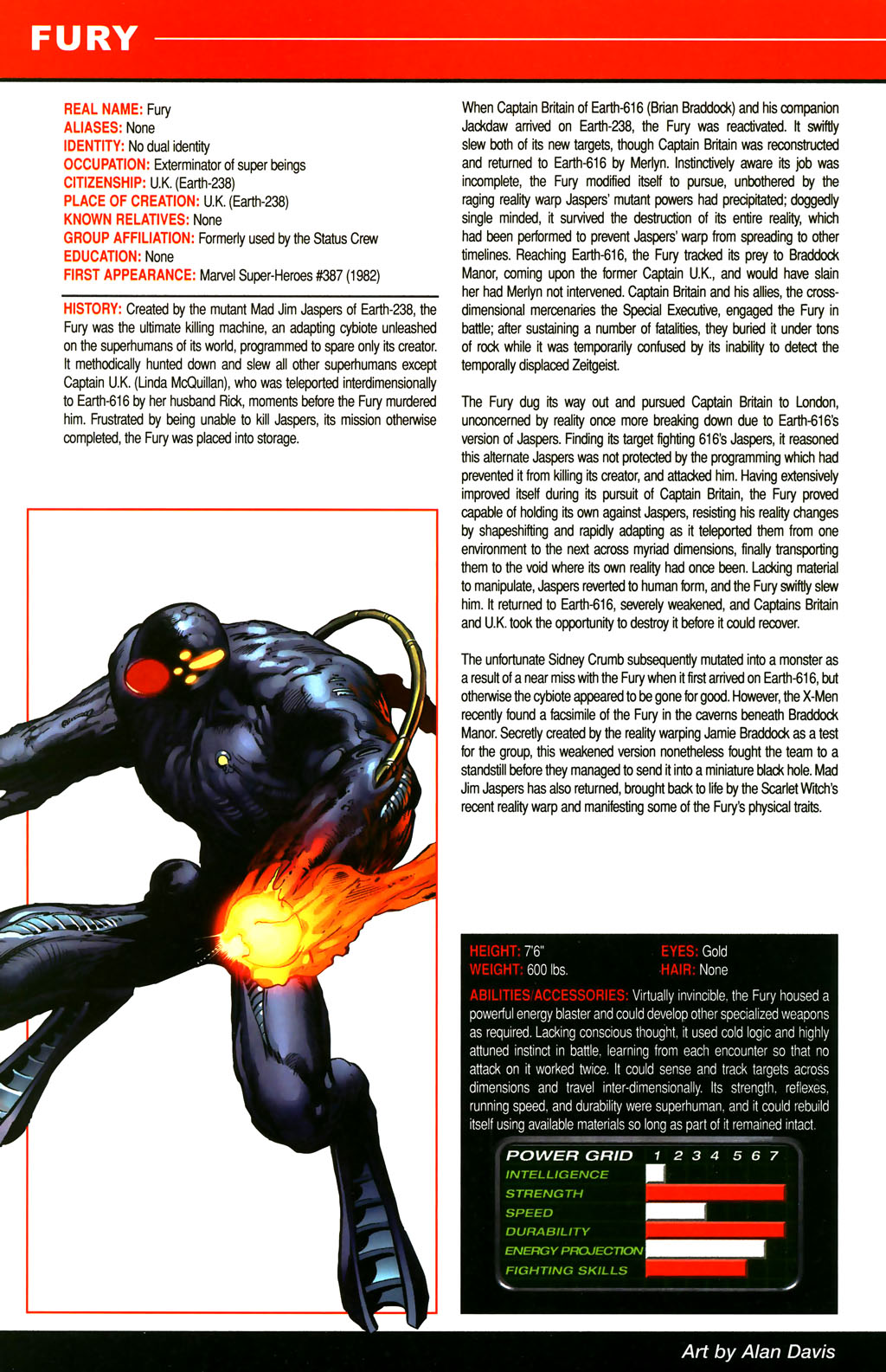 Read online All-New Official Handbook of the Marvel Universe A to Z comic -  Issue #4 - 50