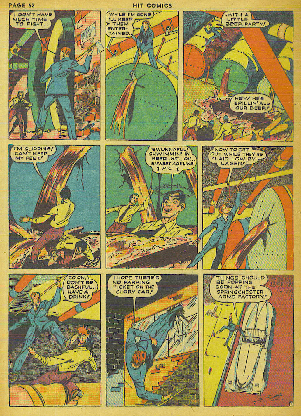 Read online Hit Comics comic -  Issue #13 - 64