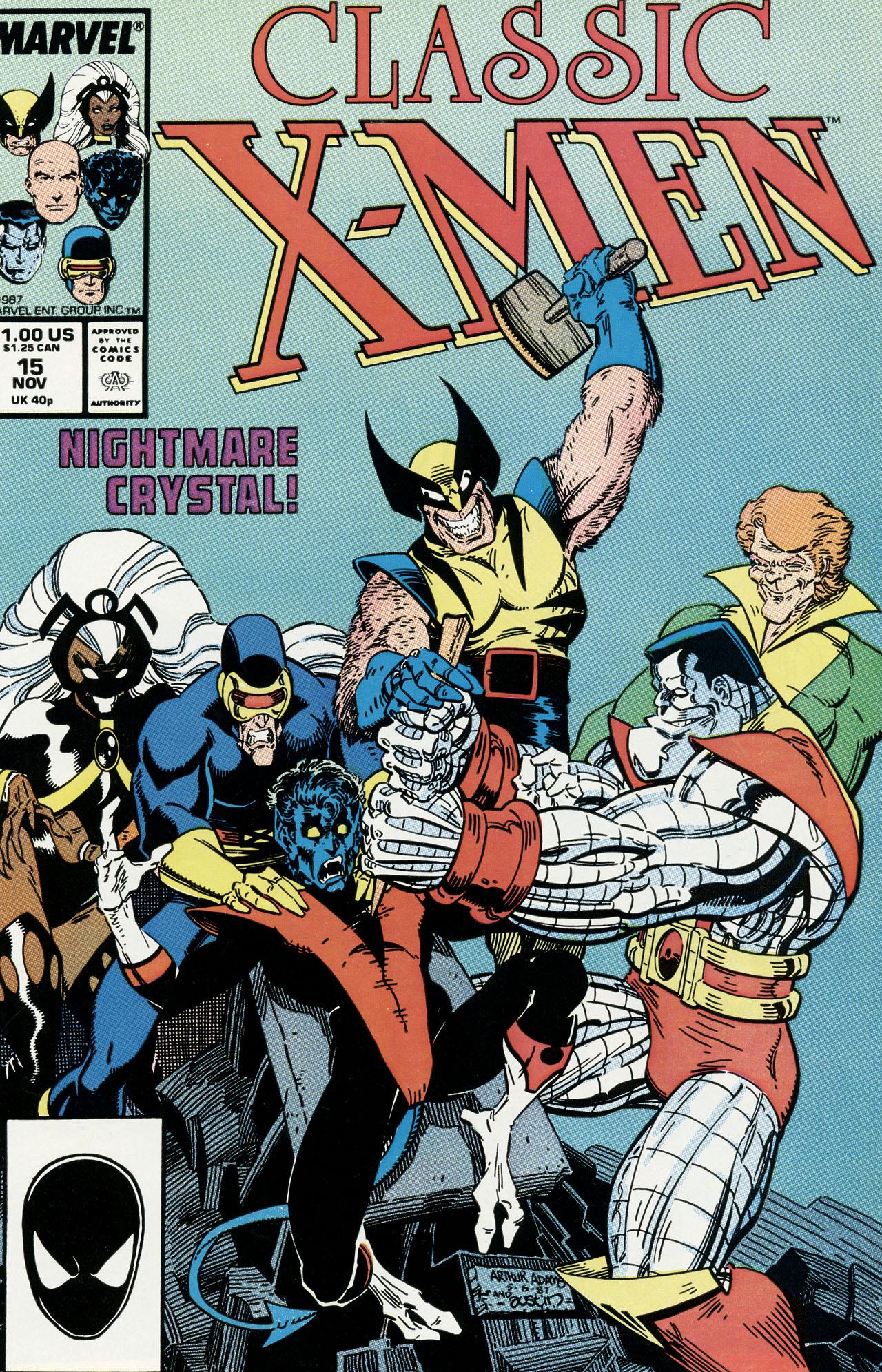 Classic X-Men 15 Page 1
