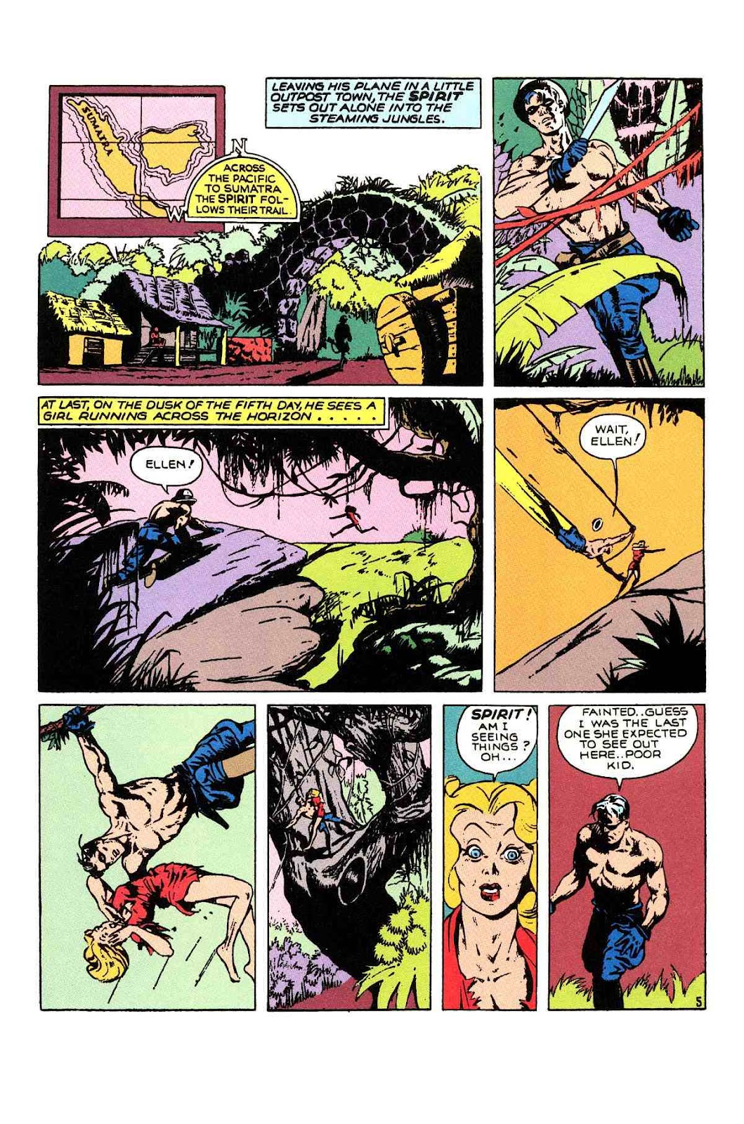 Read online Will Eisner's The Spirit Archives comic -  Issue # TPB 1 (Part 2) - 4