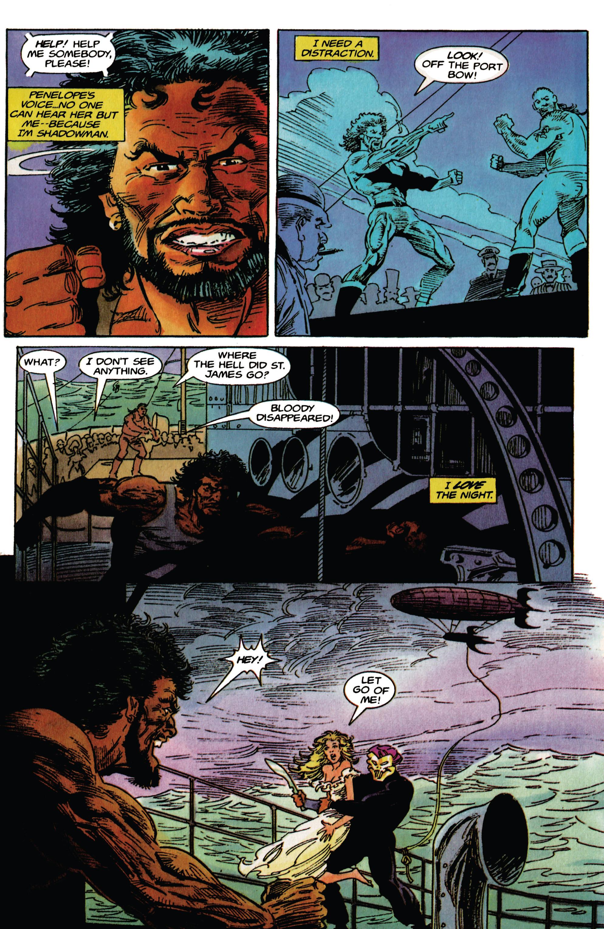 Read online Shadowman (1992) comic -  Issue # _TPB 1 - 9