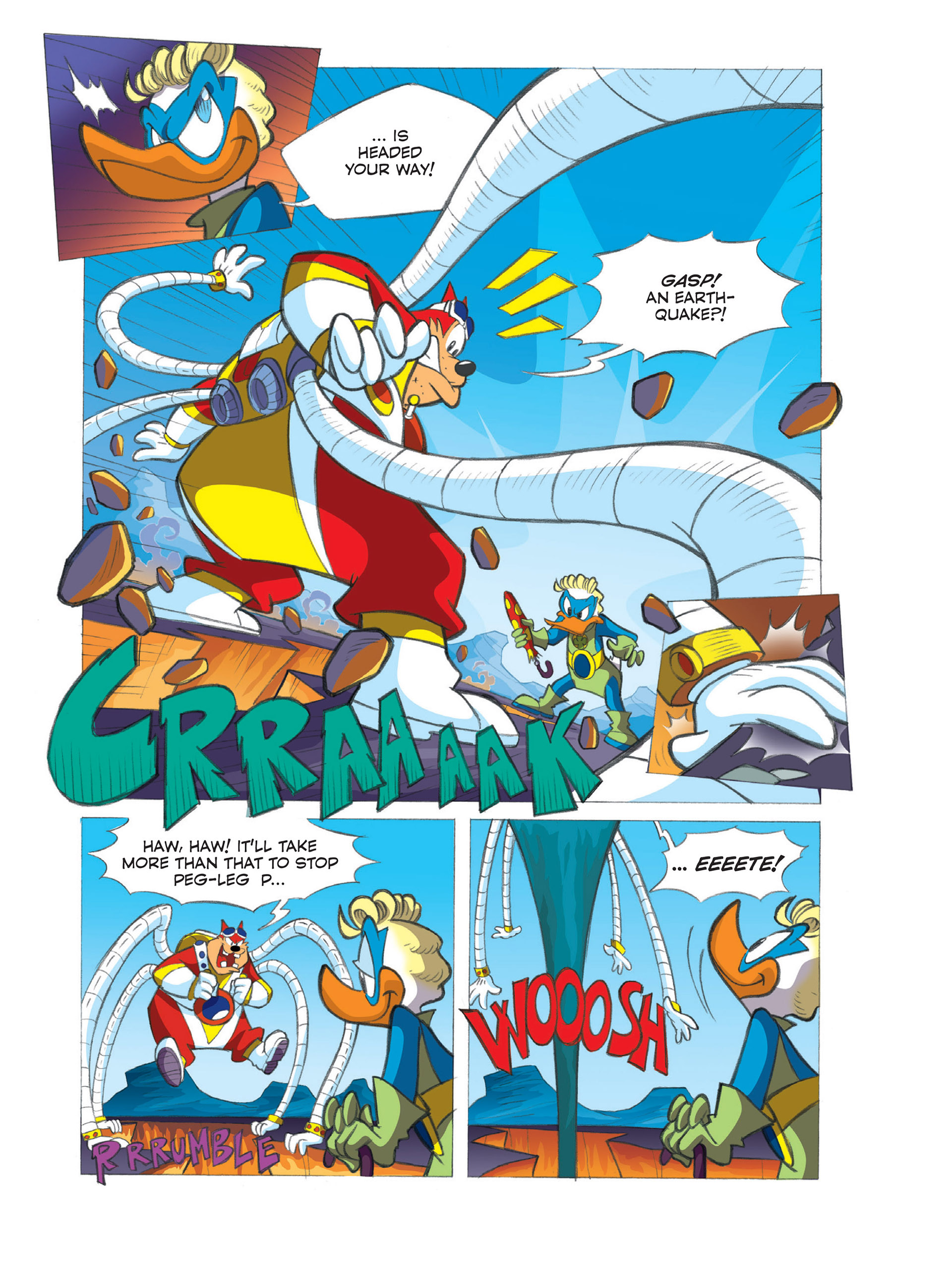 Read online Ultraheroes comic -  Issue #3 - 5