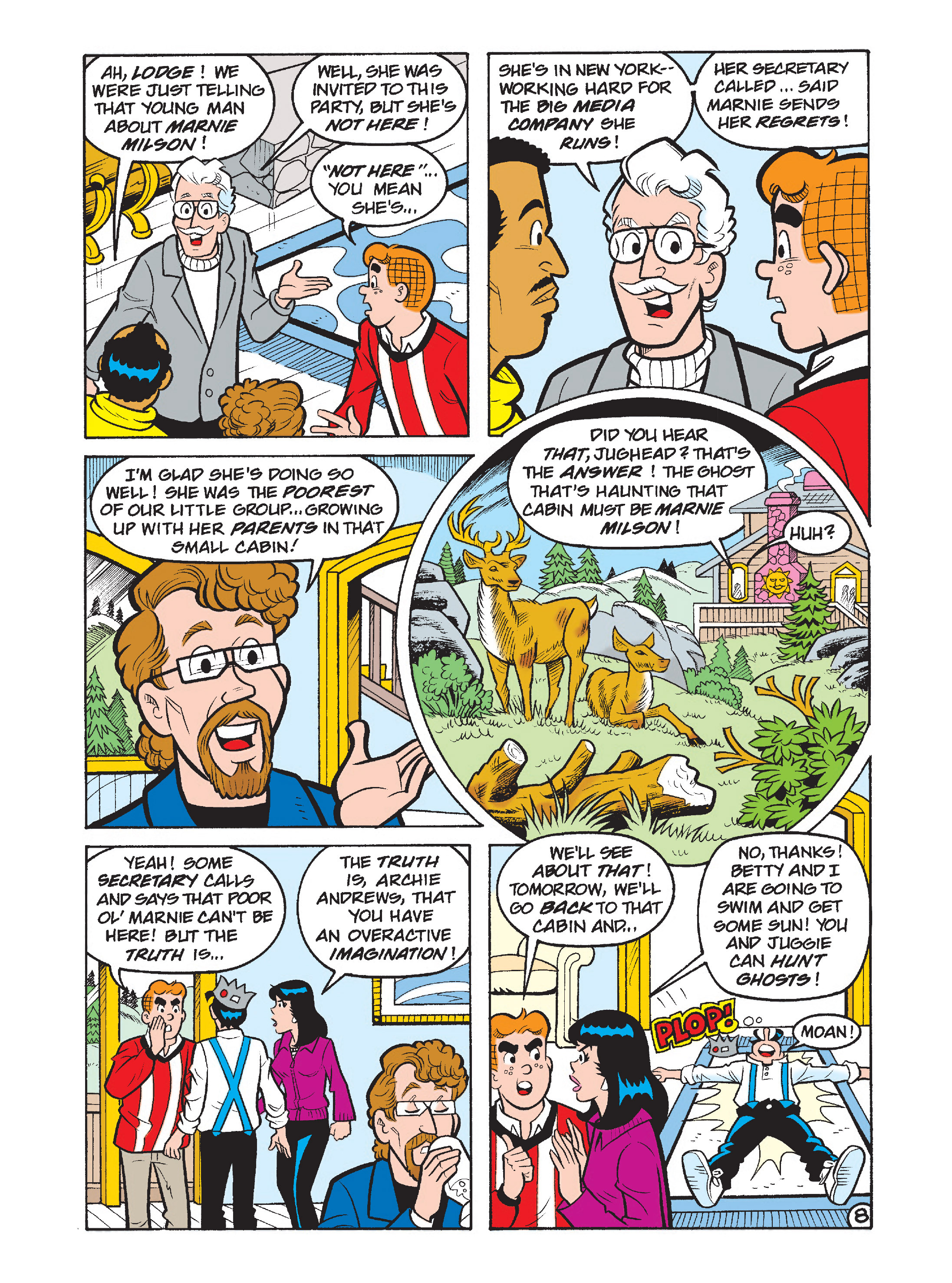 Read online Archie's Funhouse Double Digest comic -  Issue #1 - 9
