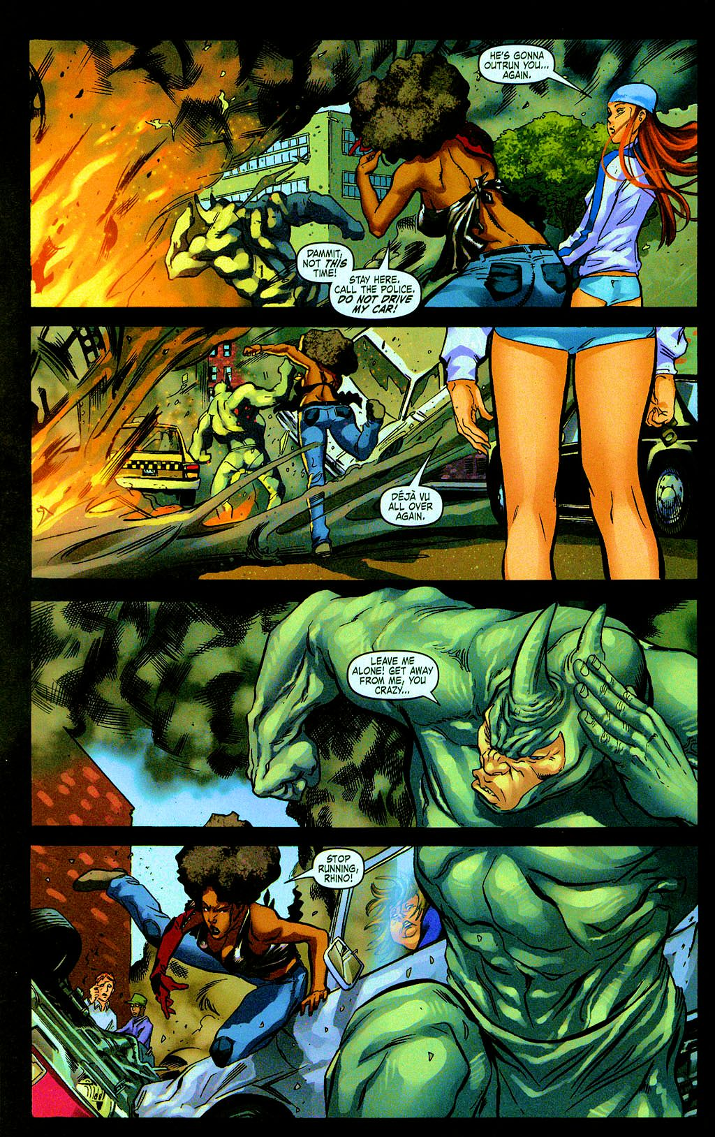 Read online Daughters of the Dragon comic -  Issue #6 - 22