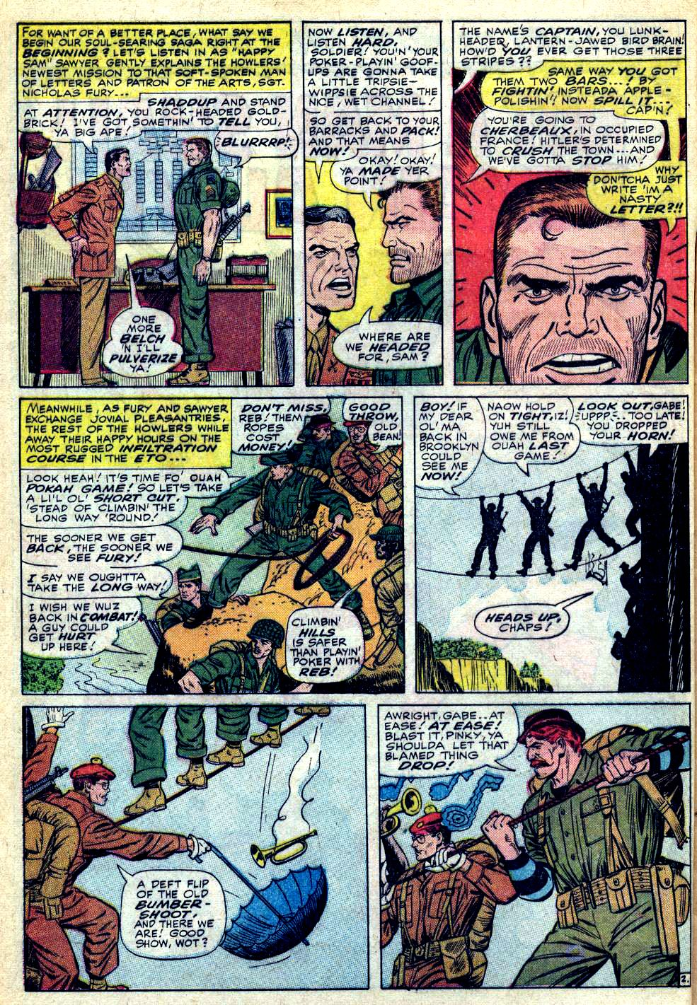 Read online Sgt. Fury comic -  Issue #28 - 4