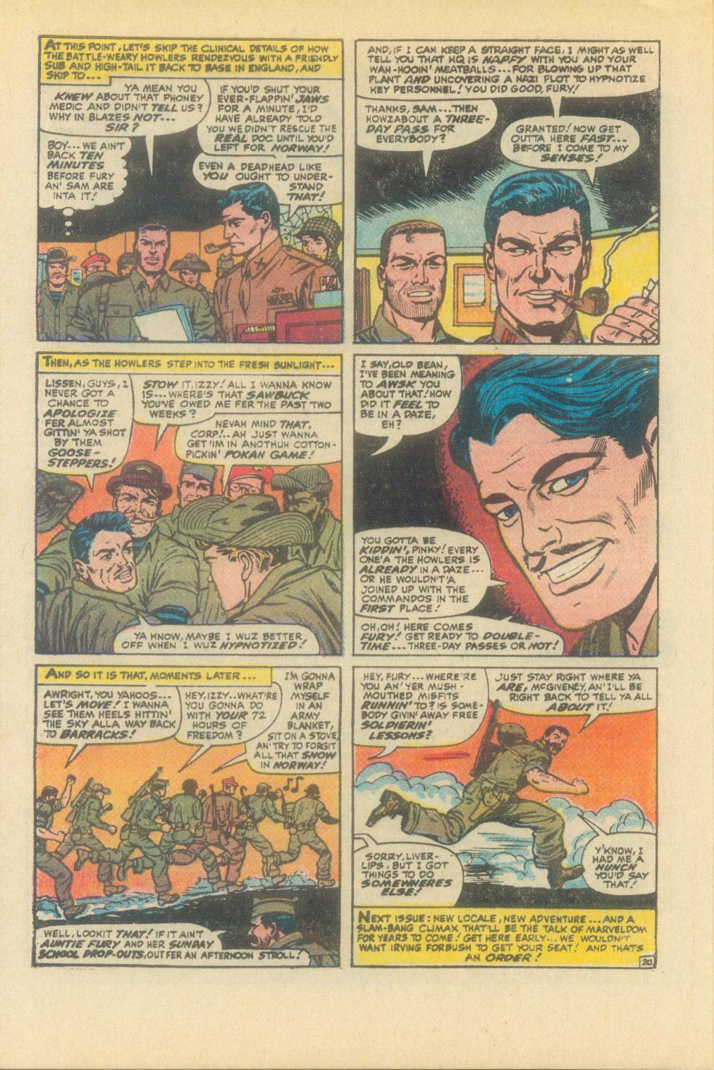 Read online Sgt. Fury comic -  Issue #93 - 32