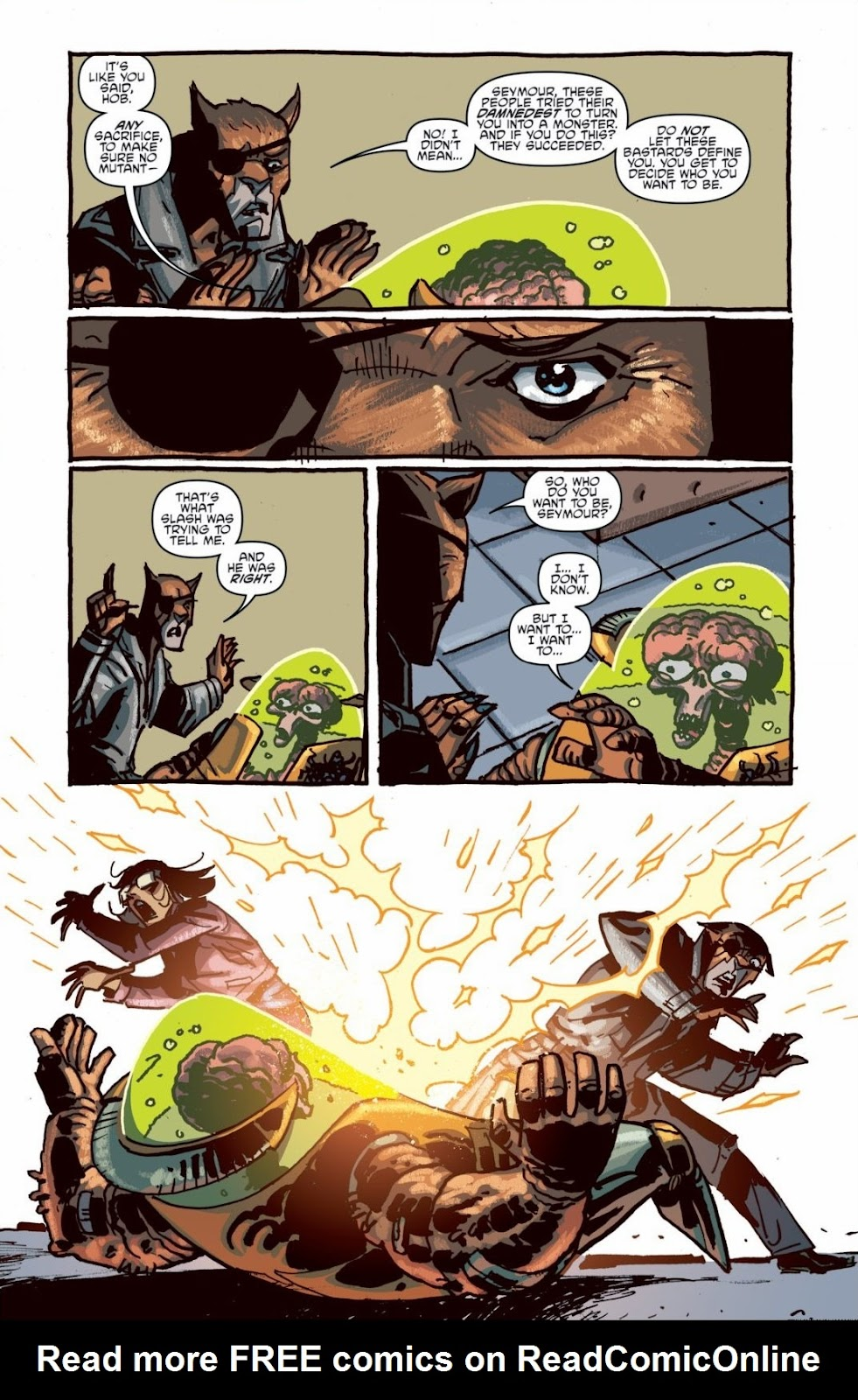 Read online Teenage Mutant Ninja Turtles: The IDW Collection comic -  Issue # TPB 6 (Part 1) - 81