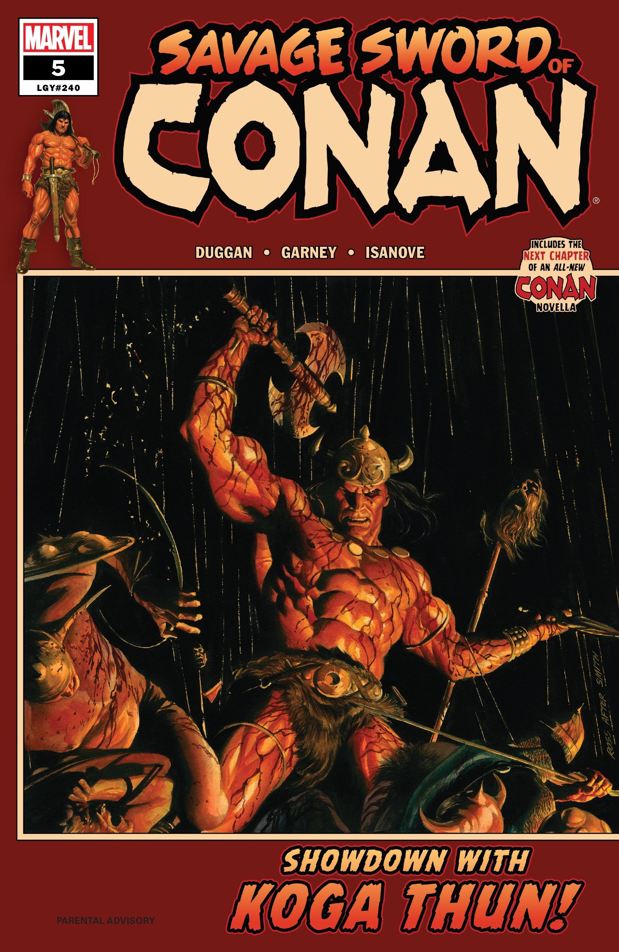 Savage Sword of Conan 5 Page 1