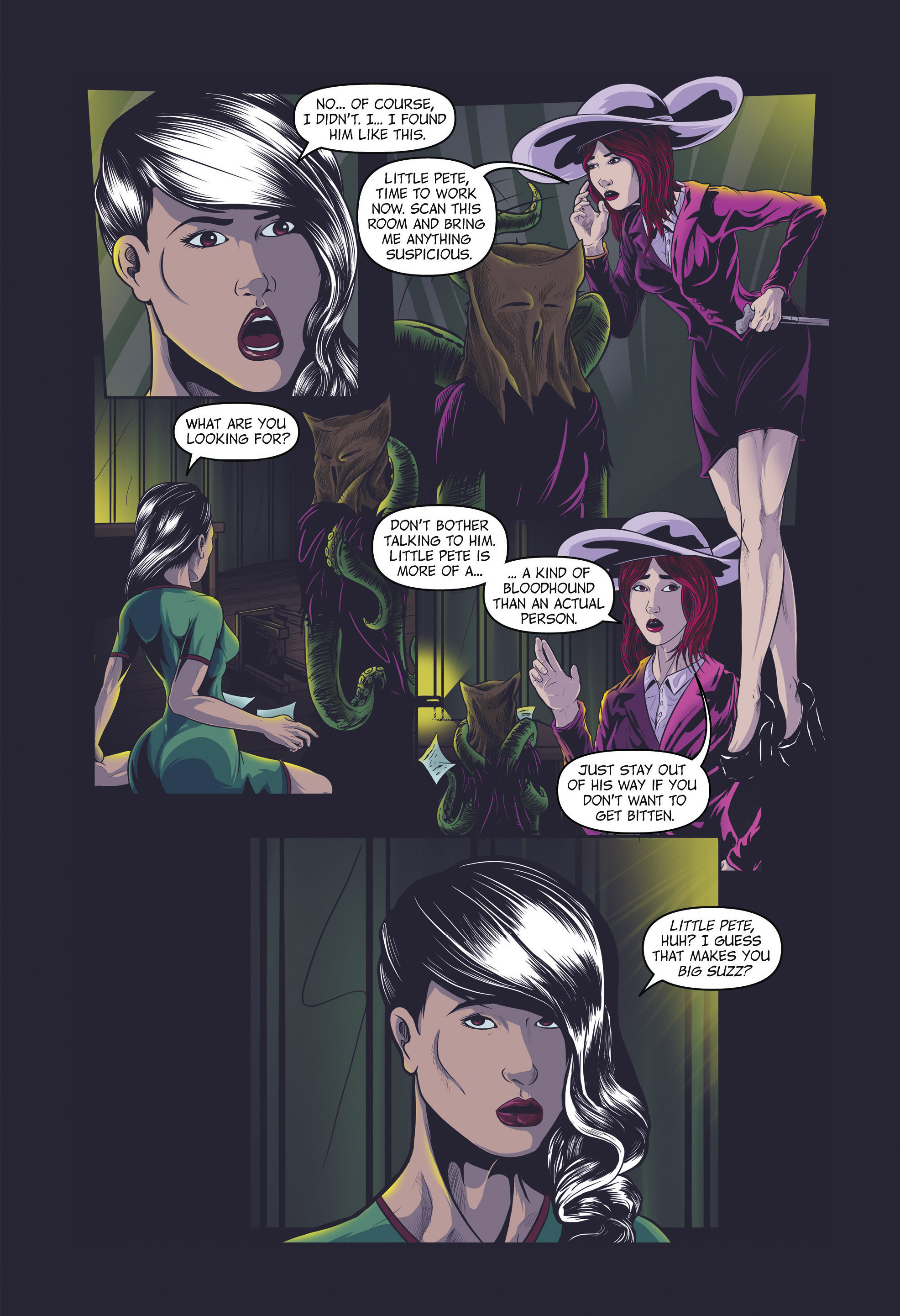 Read online Redemption Heights comic -  Issue # Full - 64
