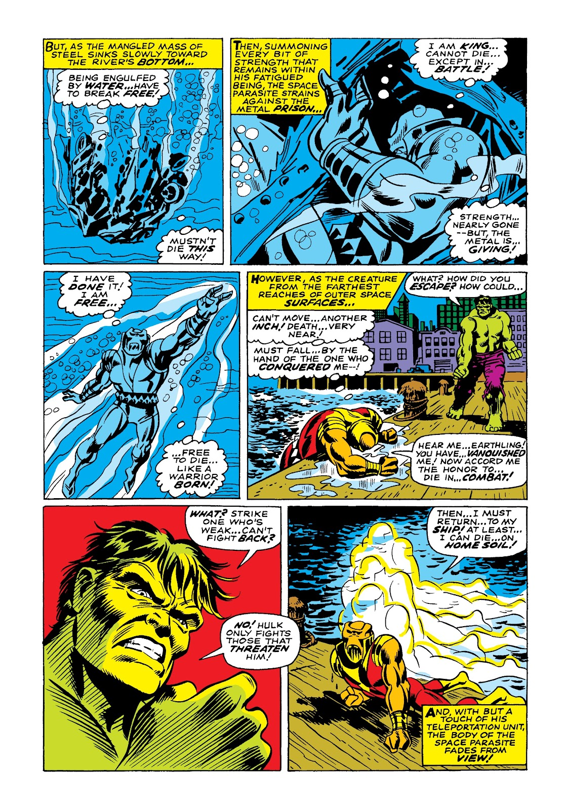 Read online Marvel Masterworks: The Incredible Hulk comic -  Issue # TPB 4 (Part 1) - 25
