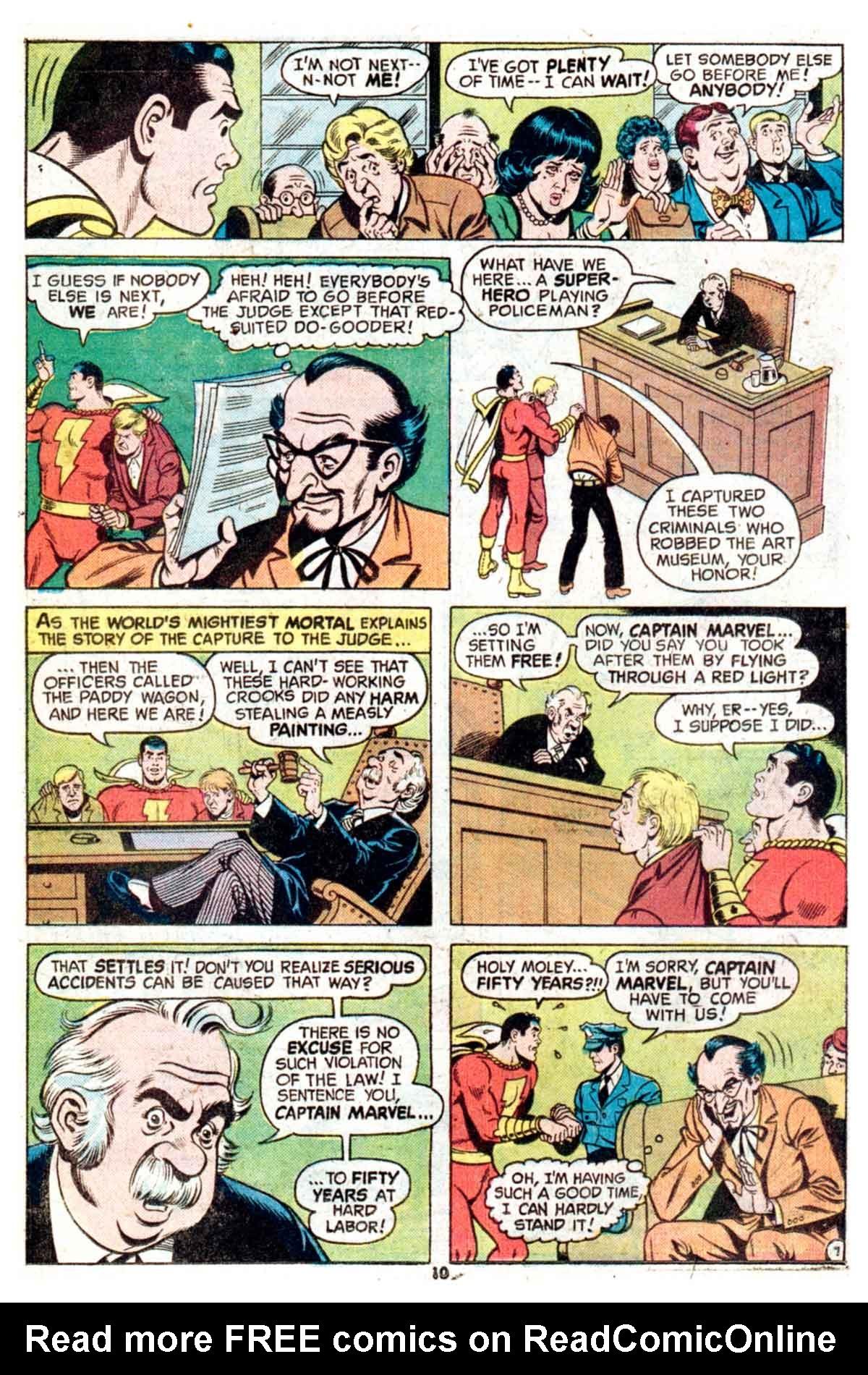 Read online Shazam! (1973) comic -  Issue #16 - 10