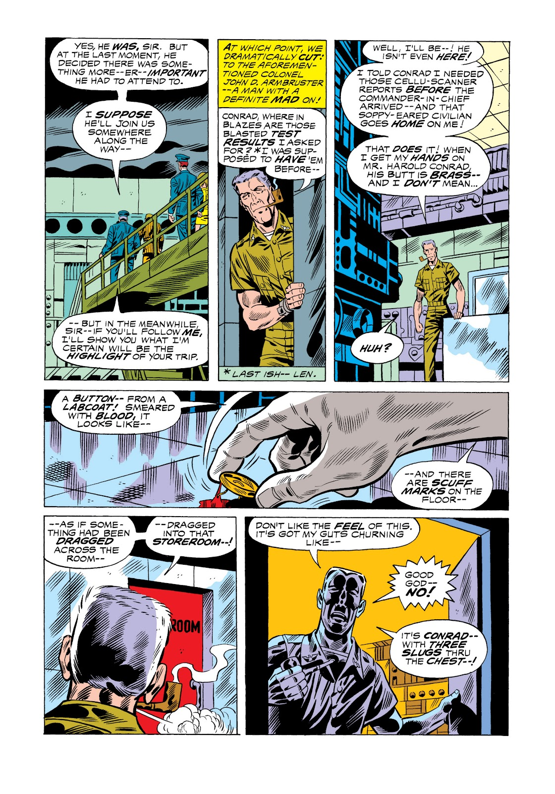 Read online Marvel Masterworks: The Incredible Hulk comic -  Issue # TPB 11 (Part 1) - 32