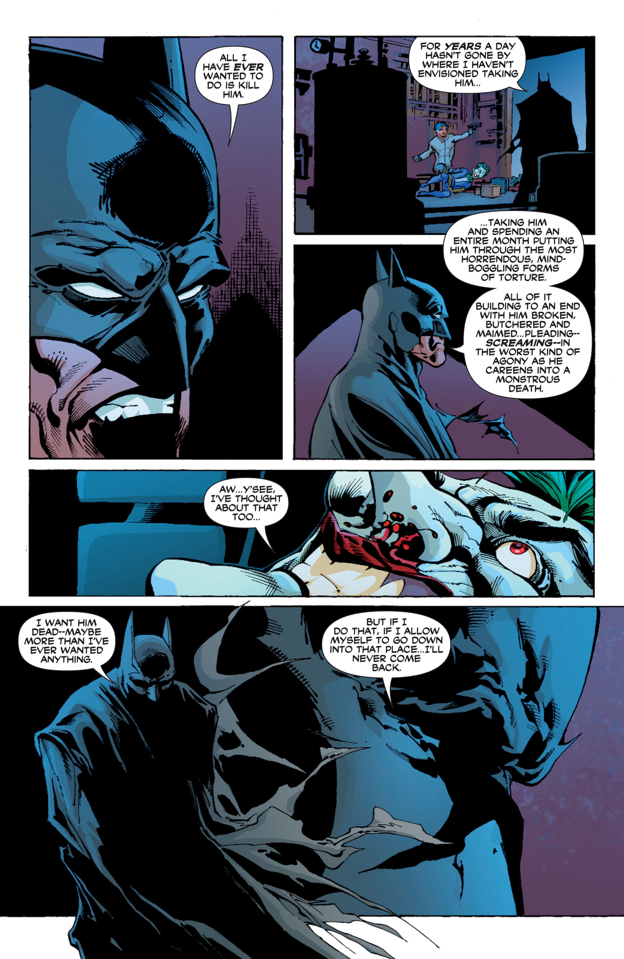 Read online Batman: Under The Red Hood comic -  Issue # Full - 308