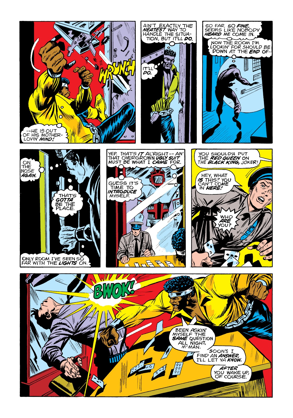 Read online Marvel Masterworks: Luke Cage, Power Man comic -  Issue # TPB 2 (Part 1) - 17