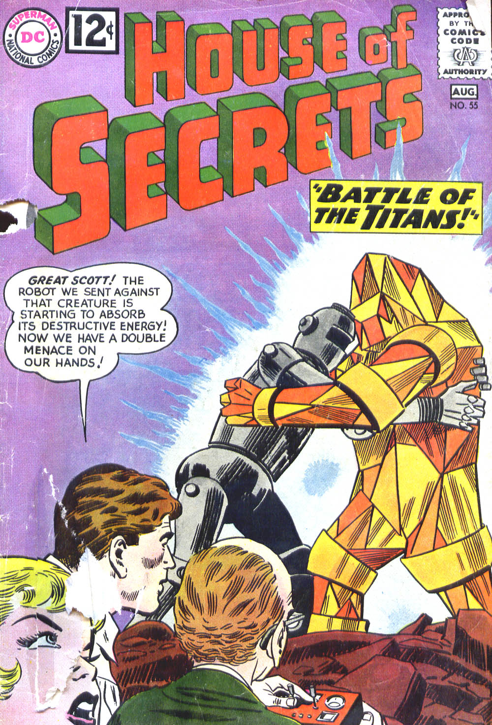 House of Secrets (1956) issue 55 - Page 1