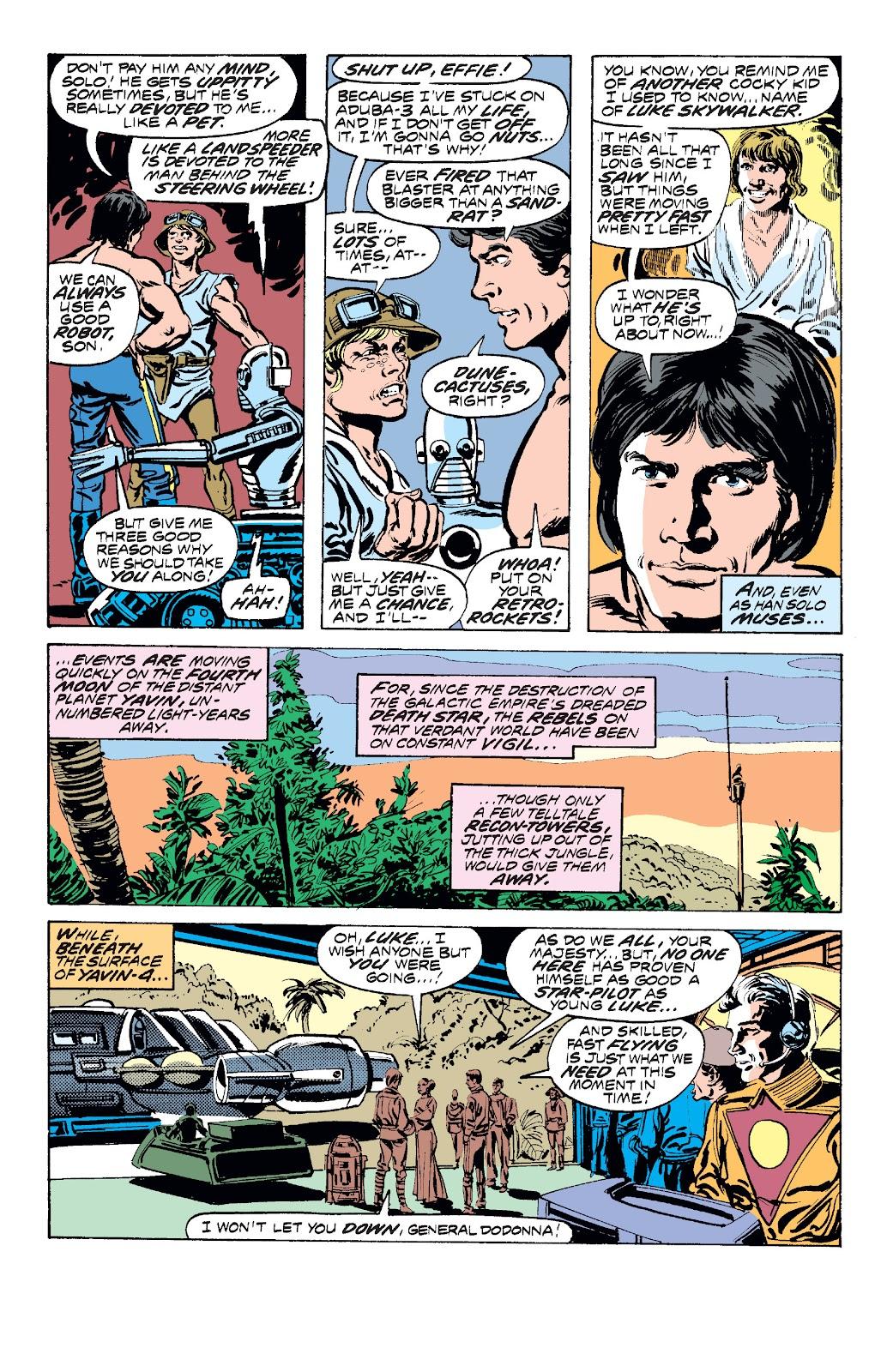 Read online Star Wars Legends: The Original Marvel Years - Epic Collection comic -  Issue # TPB 1 (Part 2) - 47