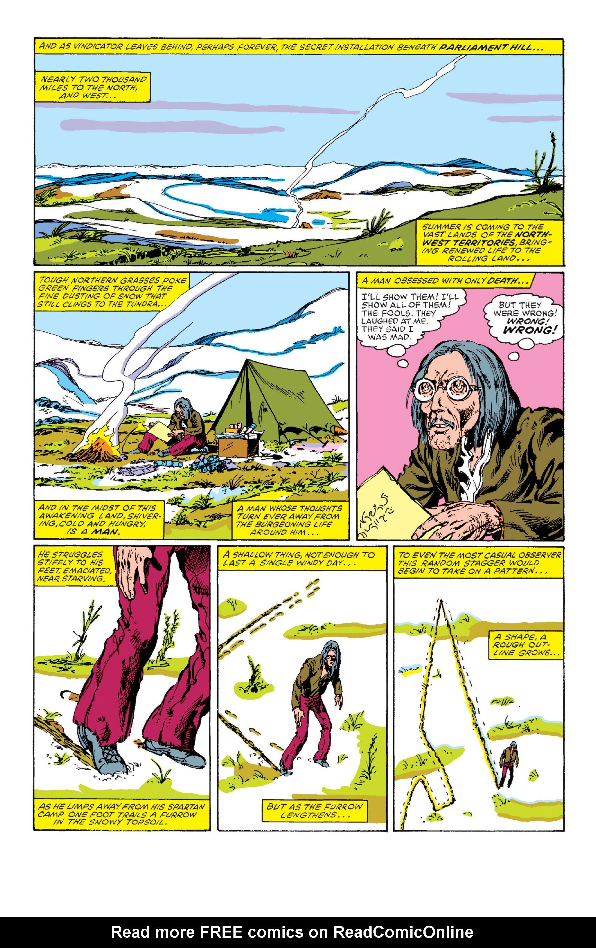 Read online Alpha Flight (1983) comic -  Issue #1 - 6