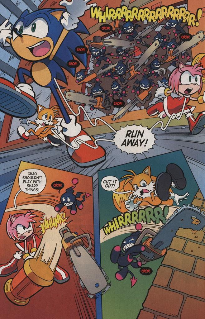 Read online Sonic X comic -  Issue #6 - 18