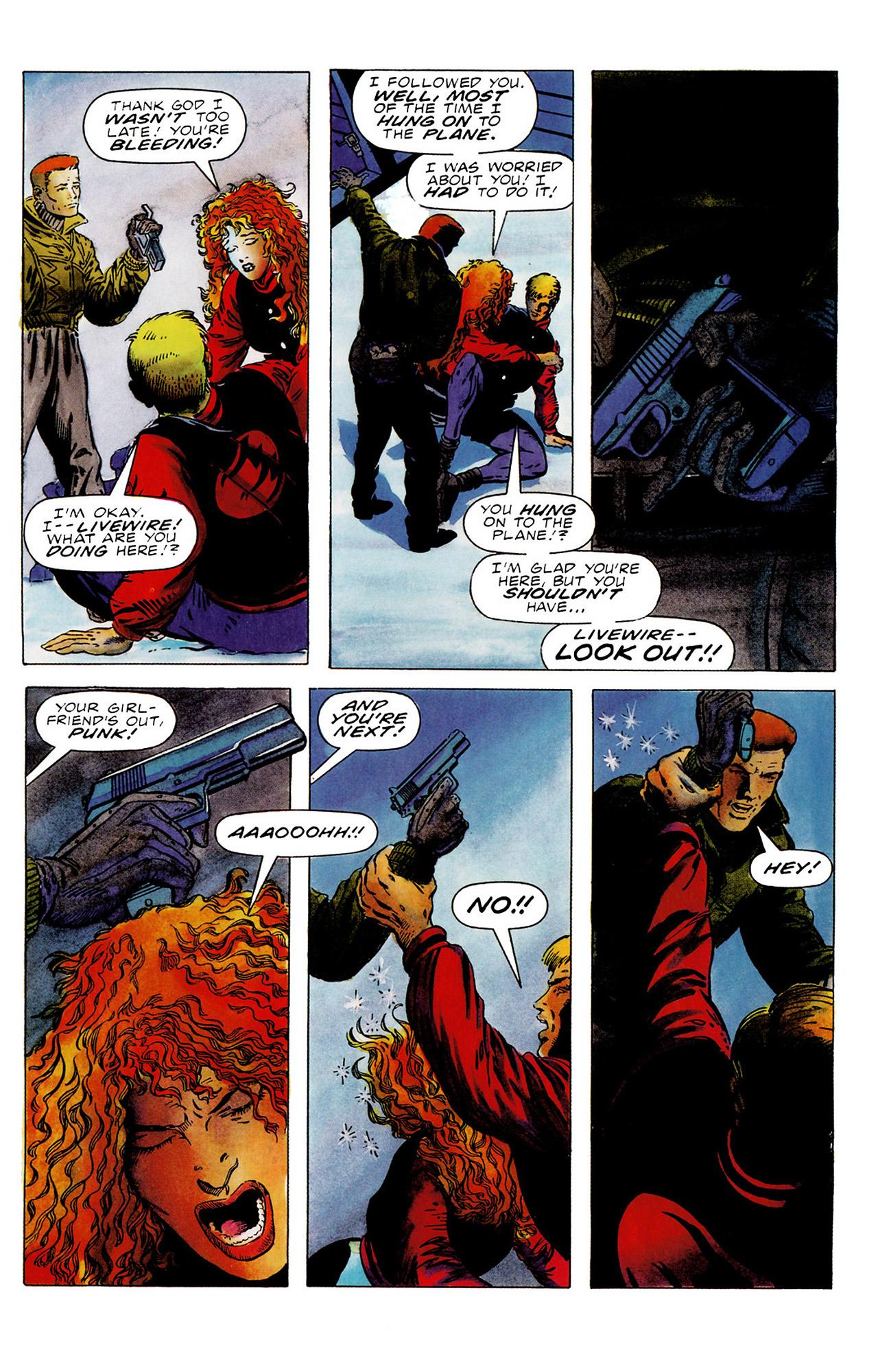 Read online Harbinger (1992) comic -  Issue #16 - 18