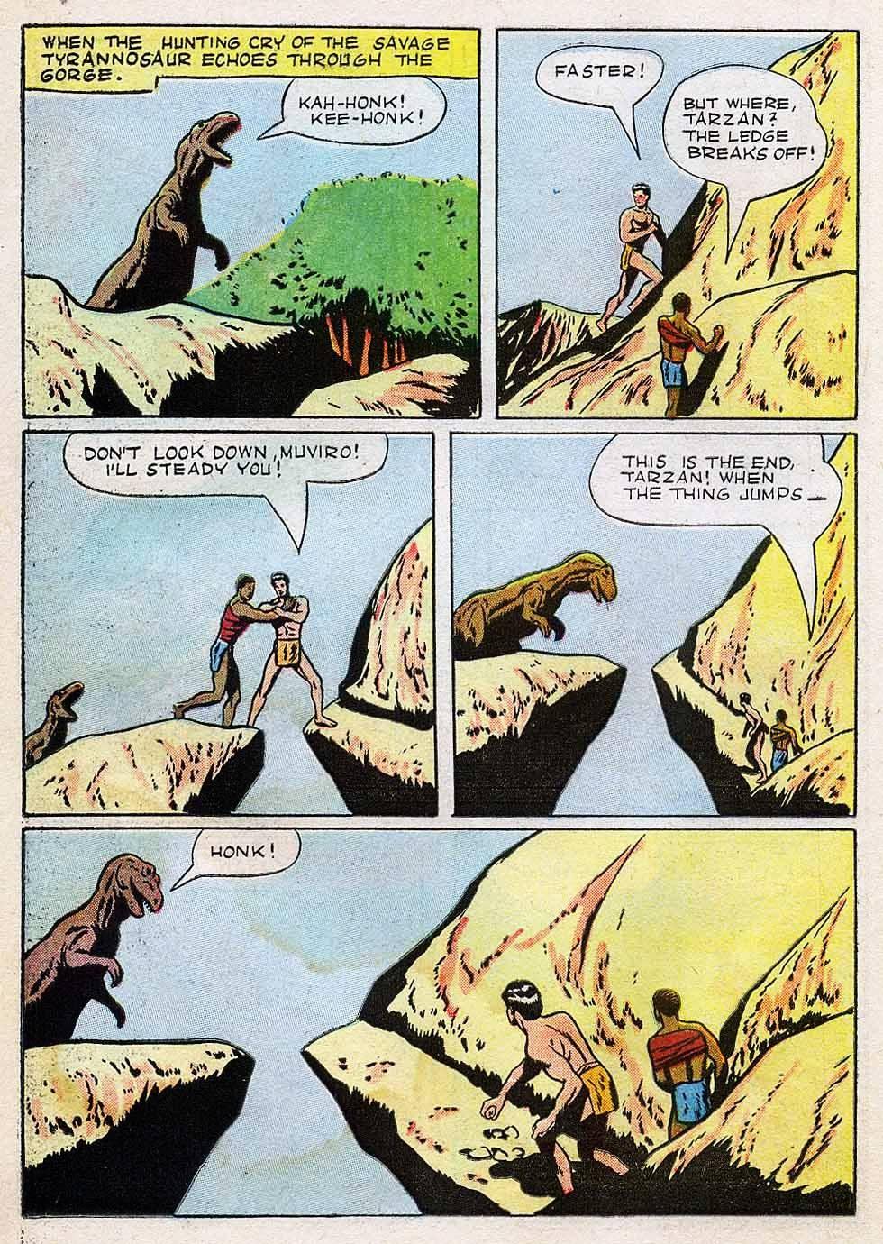 Tarzan (1948) issue 7 - Page 22