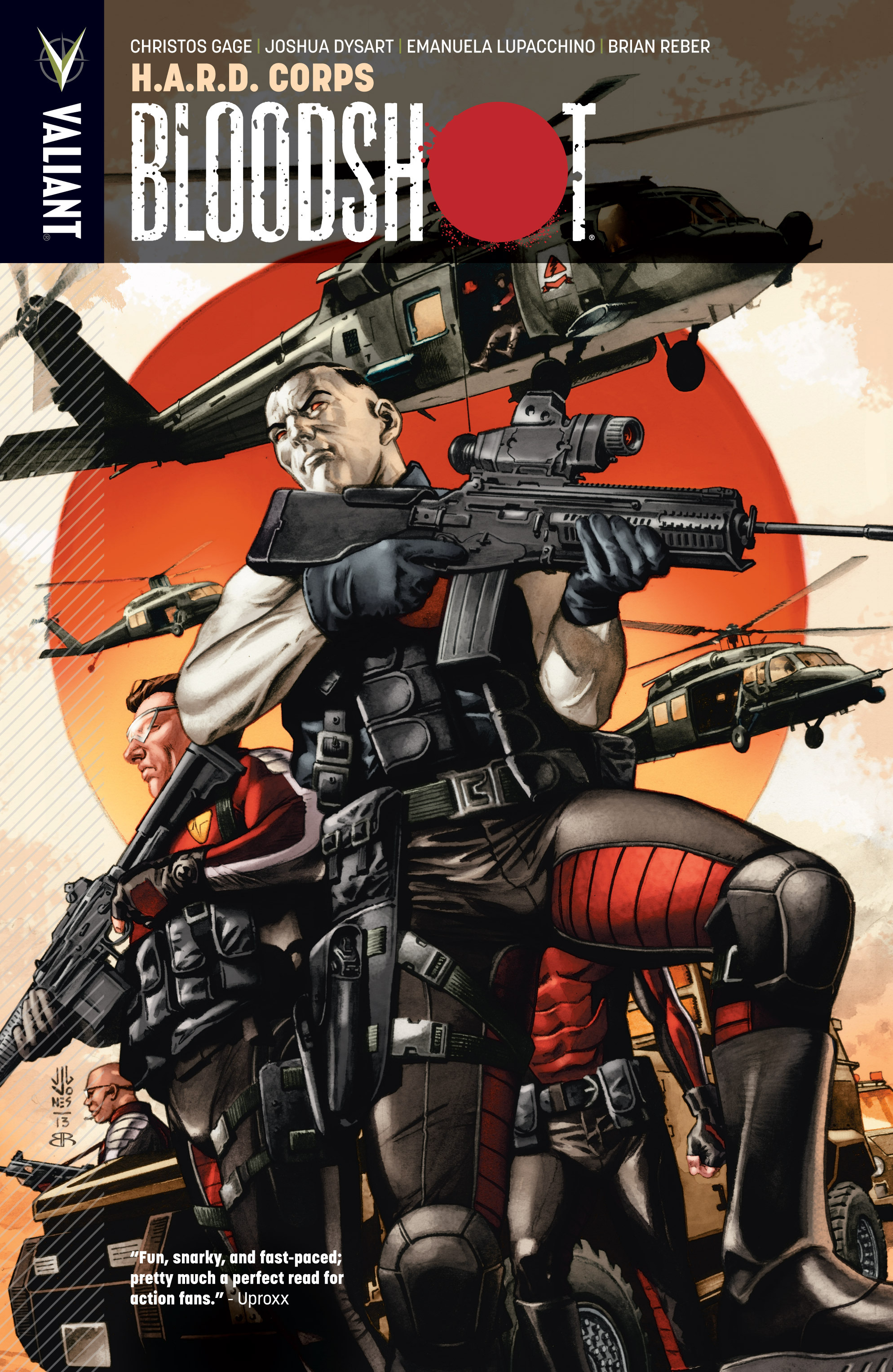 Read online Bloodshot and H.A.R.D.Corps comic -  Issue # TPB 4 - 1