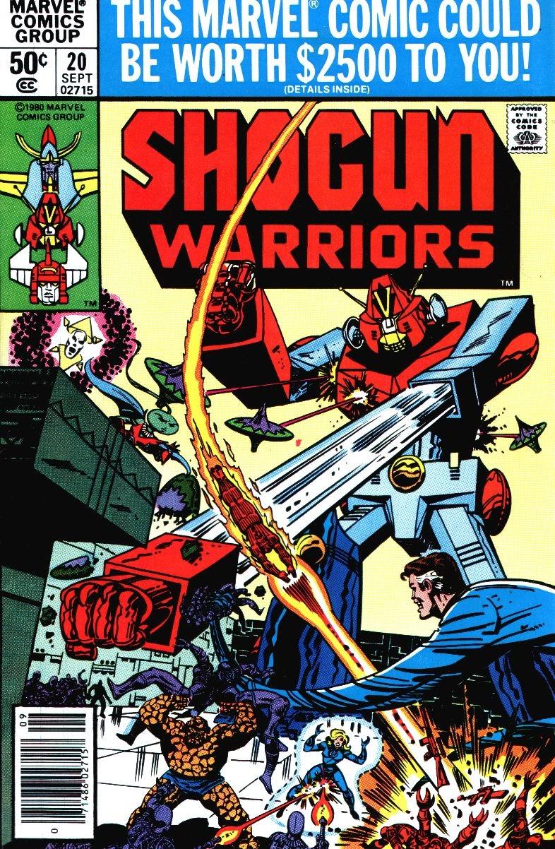 Shogun Warriors 20 Page 1