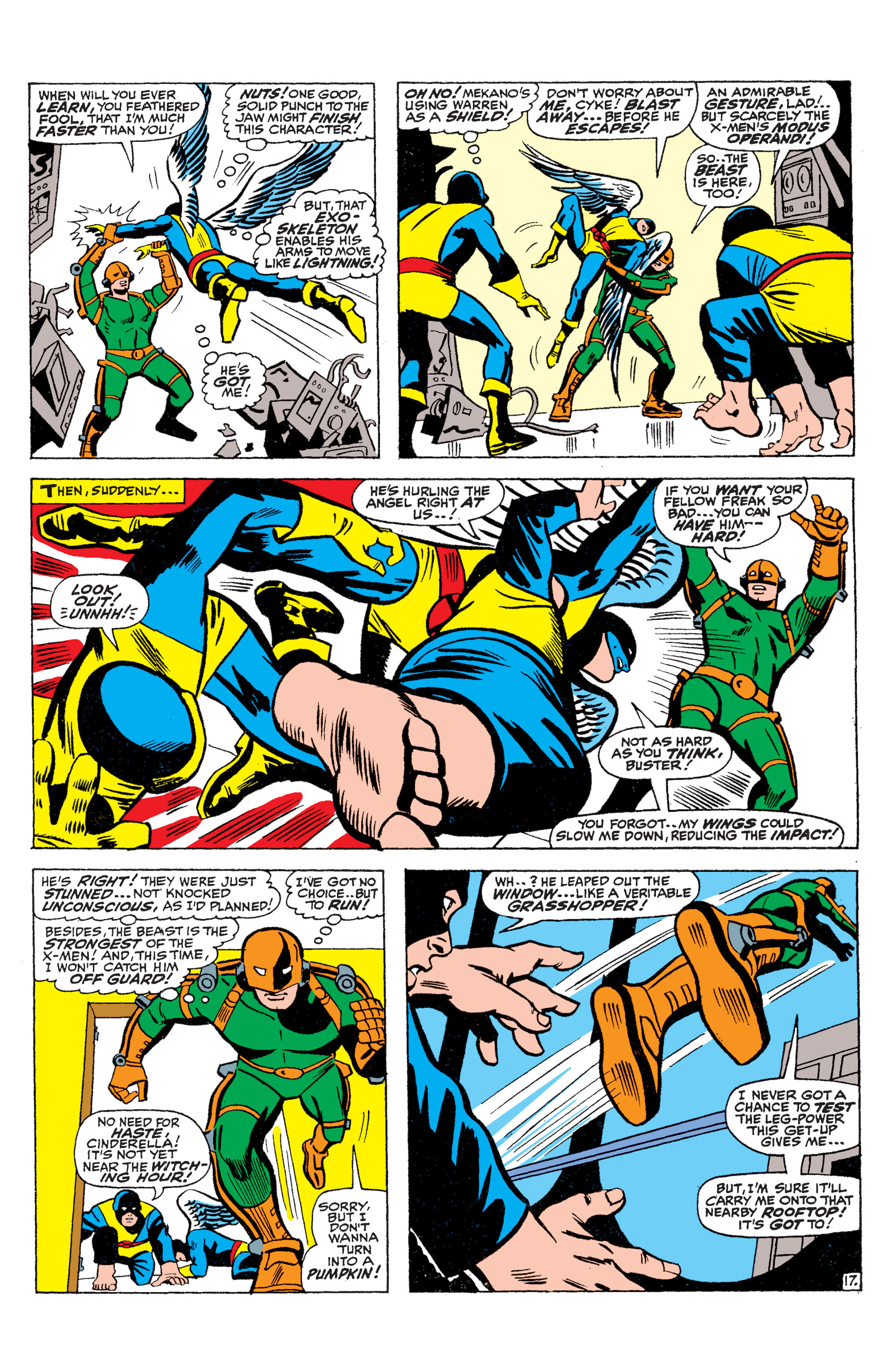 Read online Uncanny X-Men (1963) comic -  Issue #36 - 18