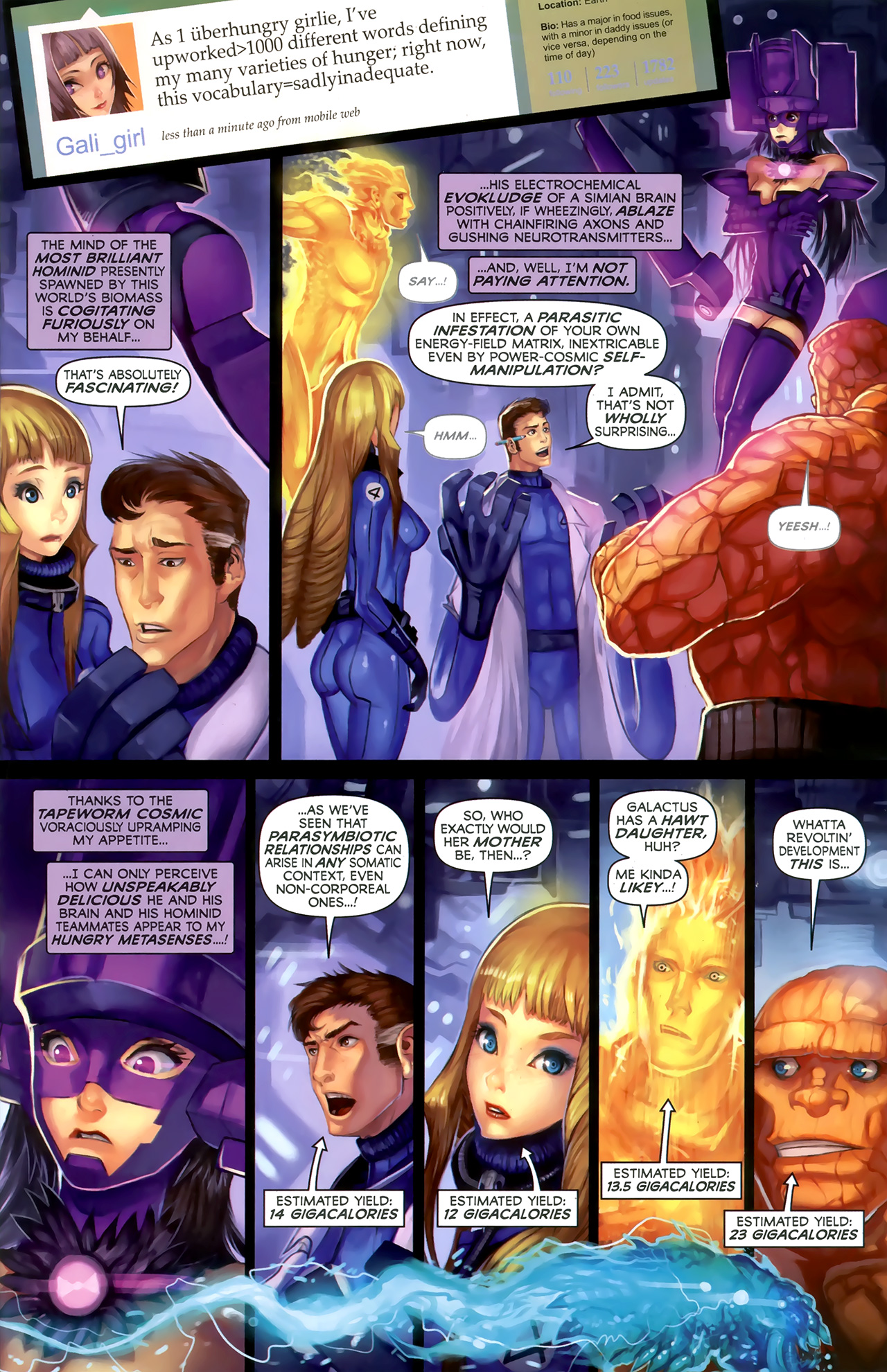Read online Galacta: Daughter of Galactus comic -  Issue # Full - 25