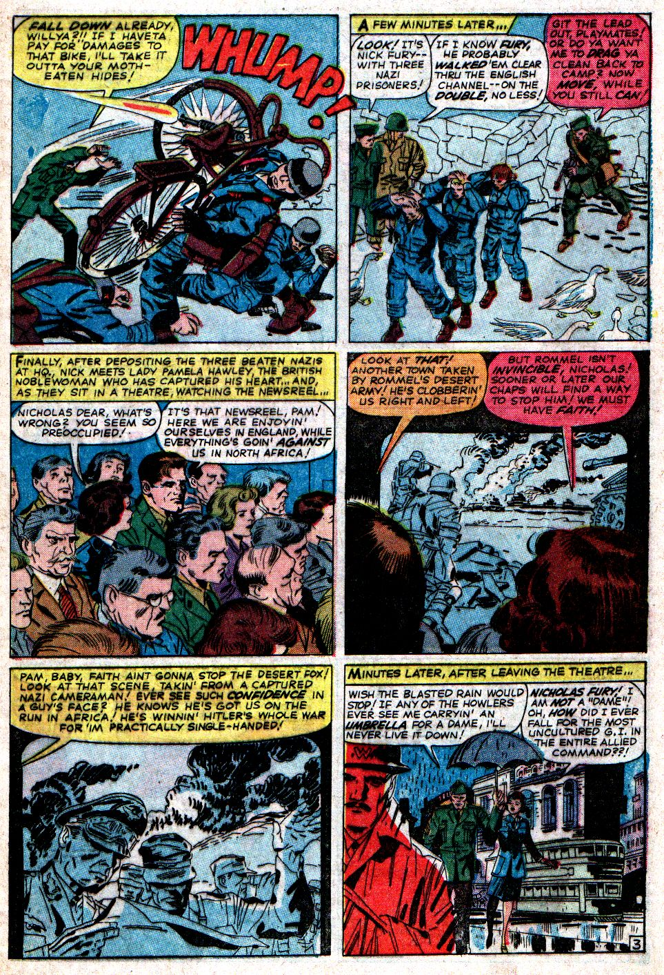 Read online Sgt. Fury comic -  Issue #6 - 5