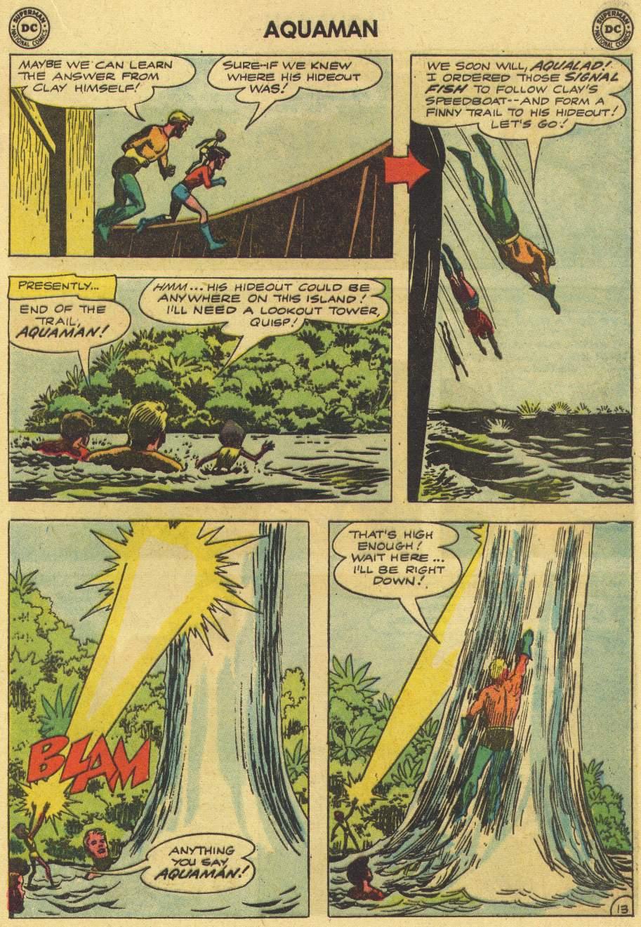 Read online Aquaman (1962) comic -  Issue #7 - 17