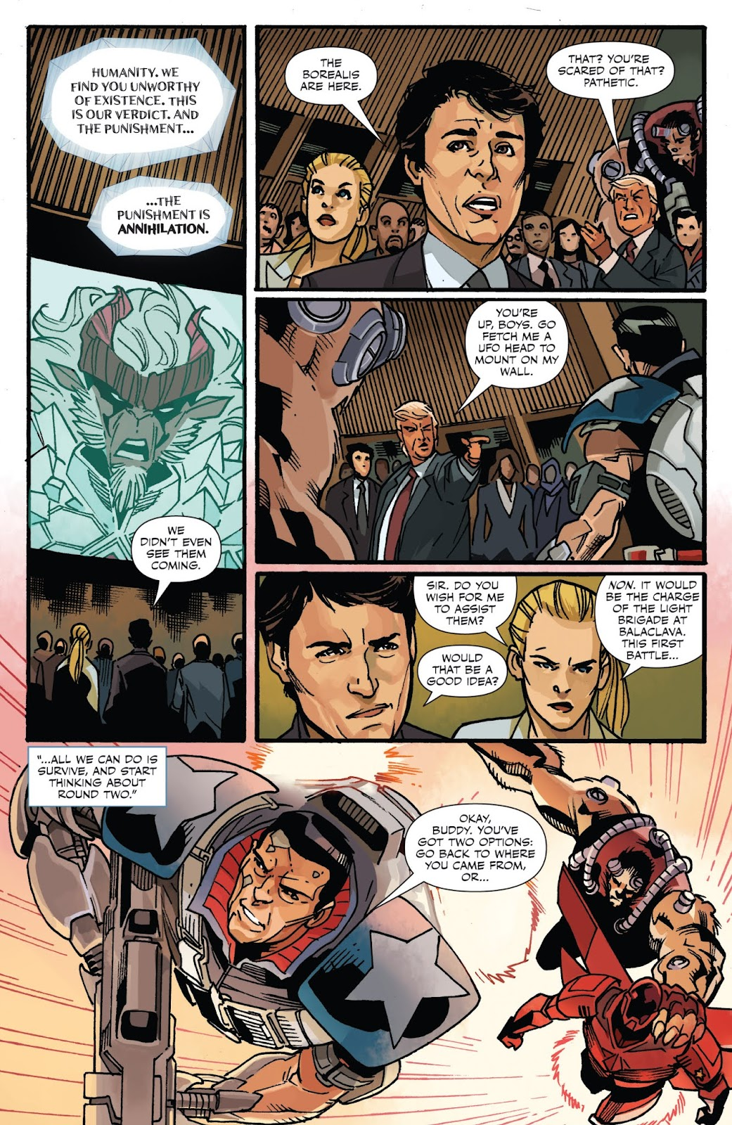Captain Canuck: Invasion (Canada Day 2018) issue Full - Page 12