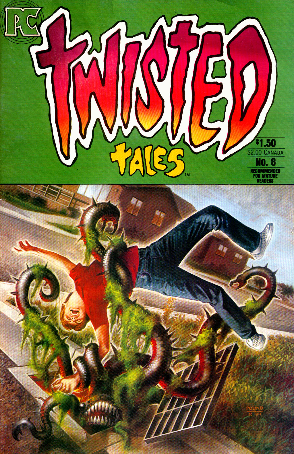 Read online Twisted Tales (1982) comic -  Issue #8 - 1