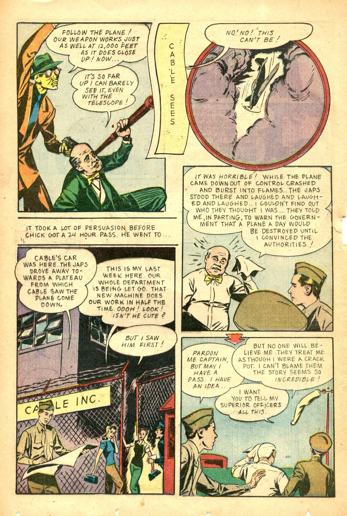Read online Shadow Comics comic -  Issue #47 - 29