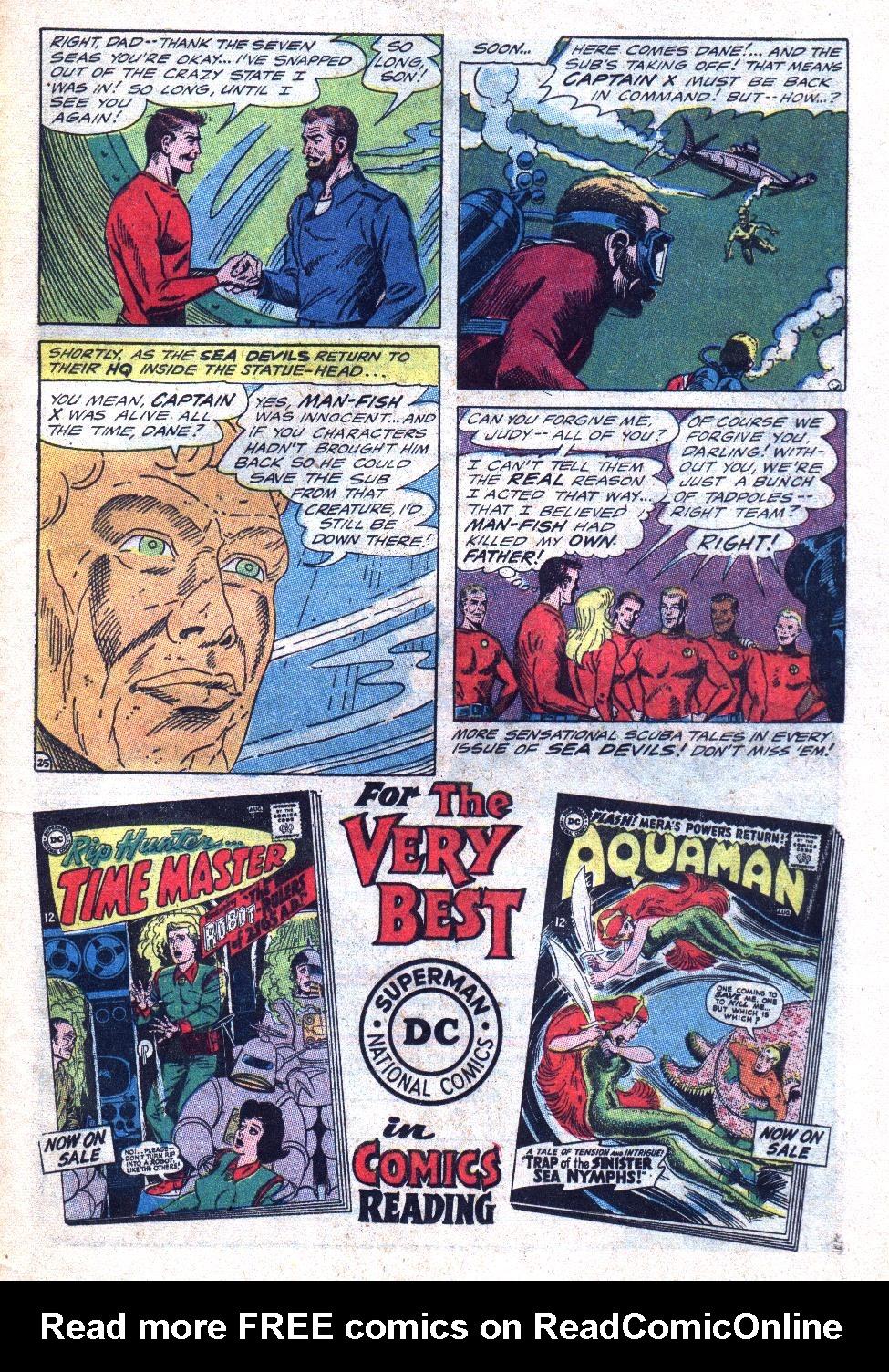 Read online Sea Devils comic -  Issue #24 - 34