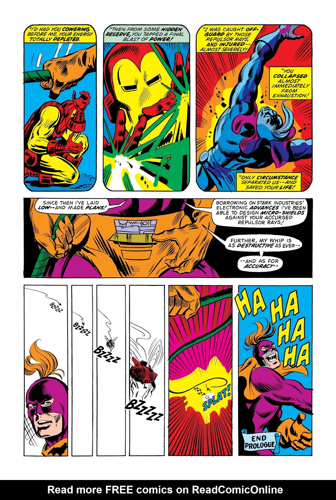 Read online Marvel Masterworks: The Invincible Iron Man comic -  Issue # TPB 9 (Part 2) - 77