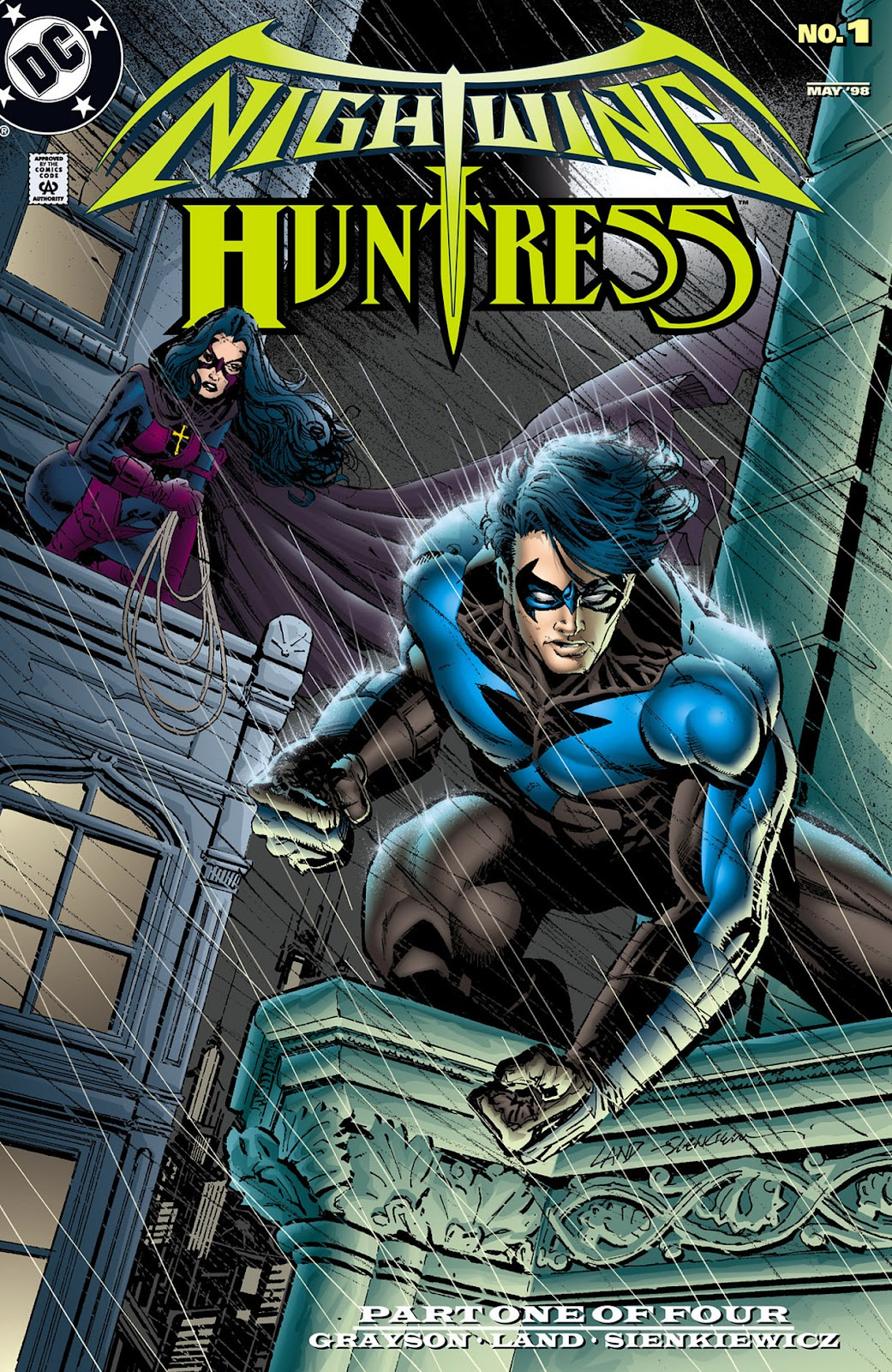 Nightwing and Huntress issue 1 - Page 1