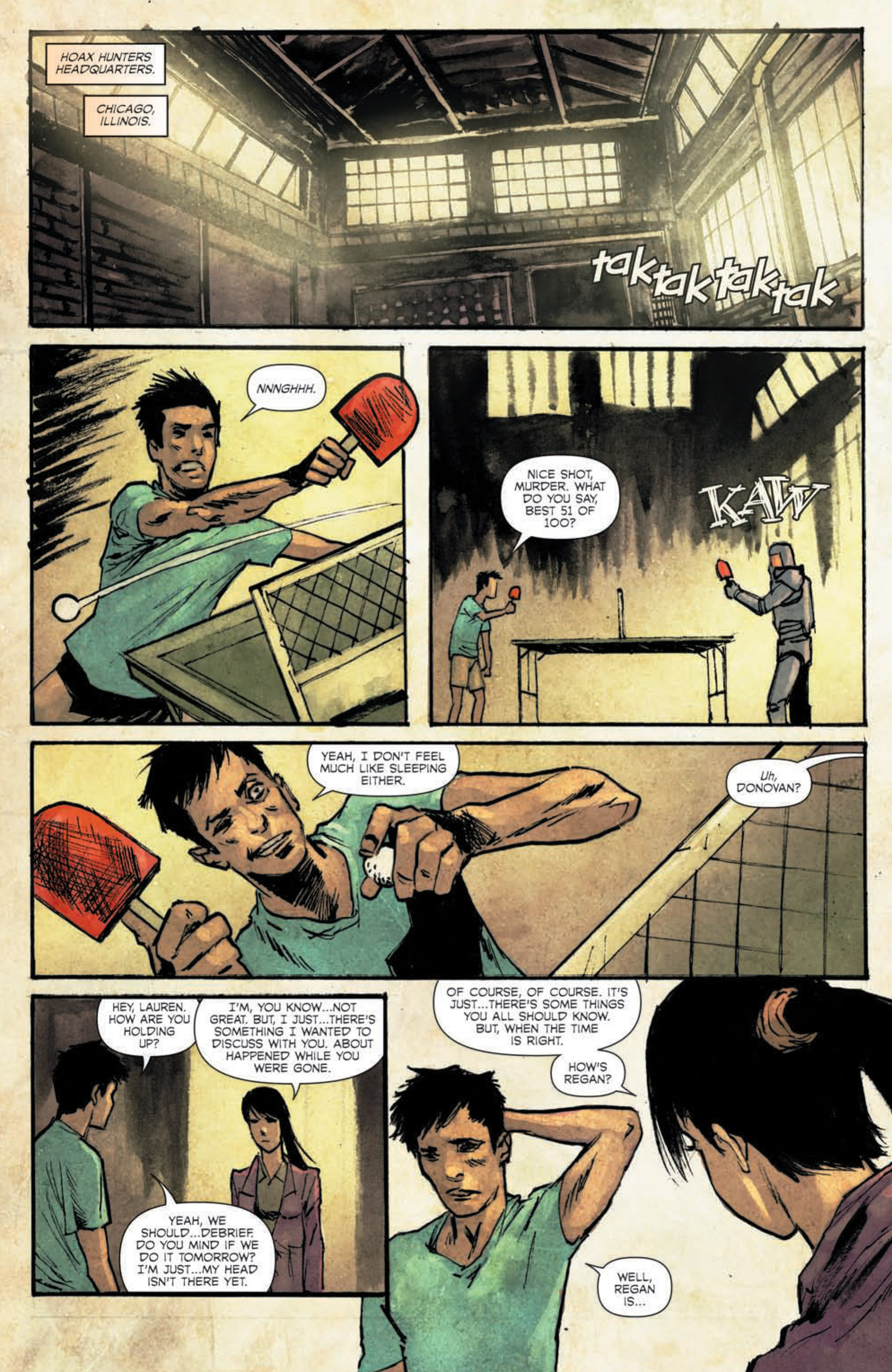 Read online Hoax Hunters (2015) comic -  Issue #5 - 23
