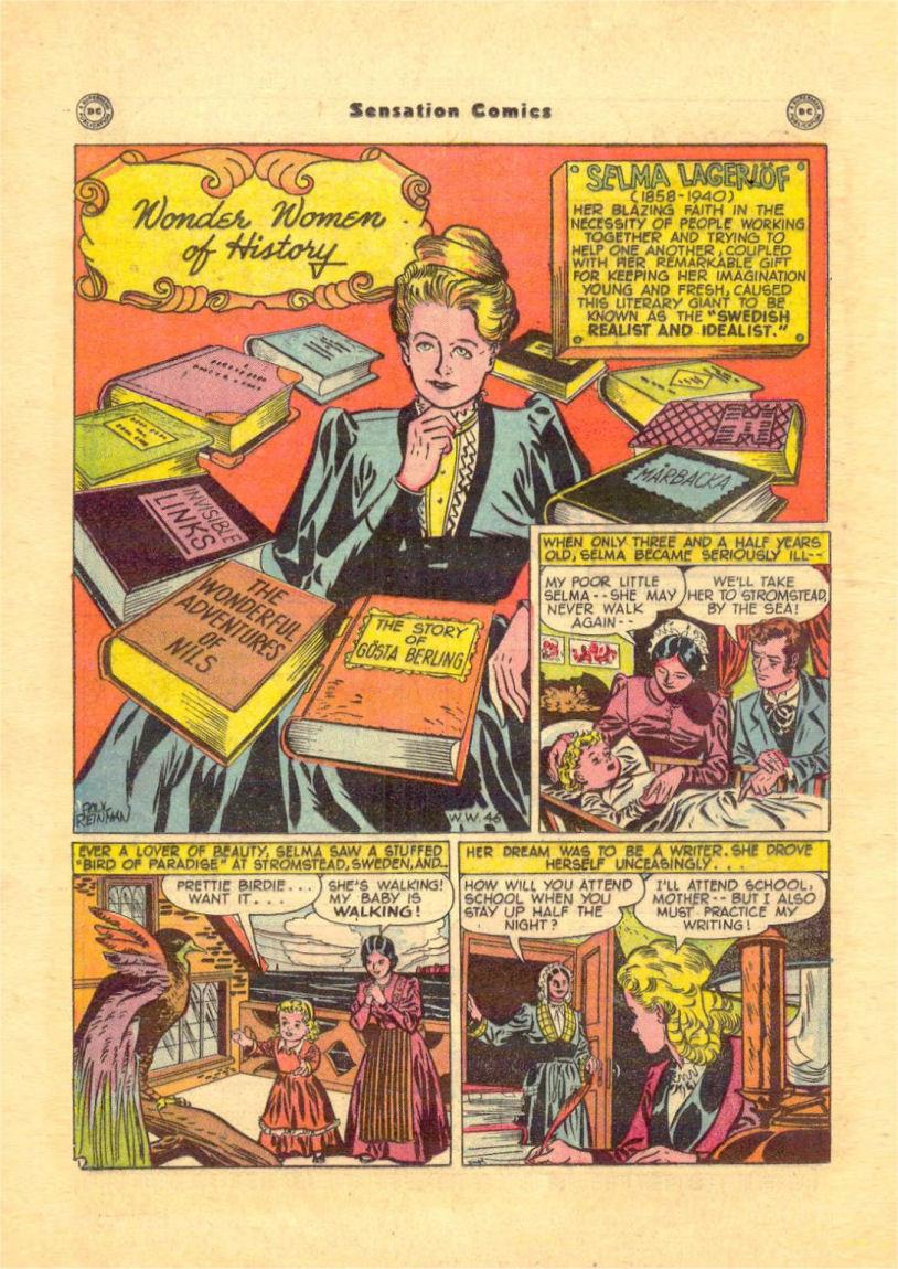 Read online Sensation (Mystery) Comics comic -  Issue #84 - 30