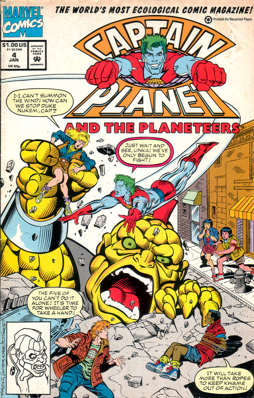 Captain Planet and the Planeteers 4 Page 1
