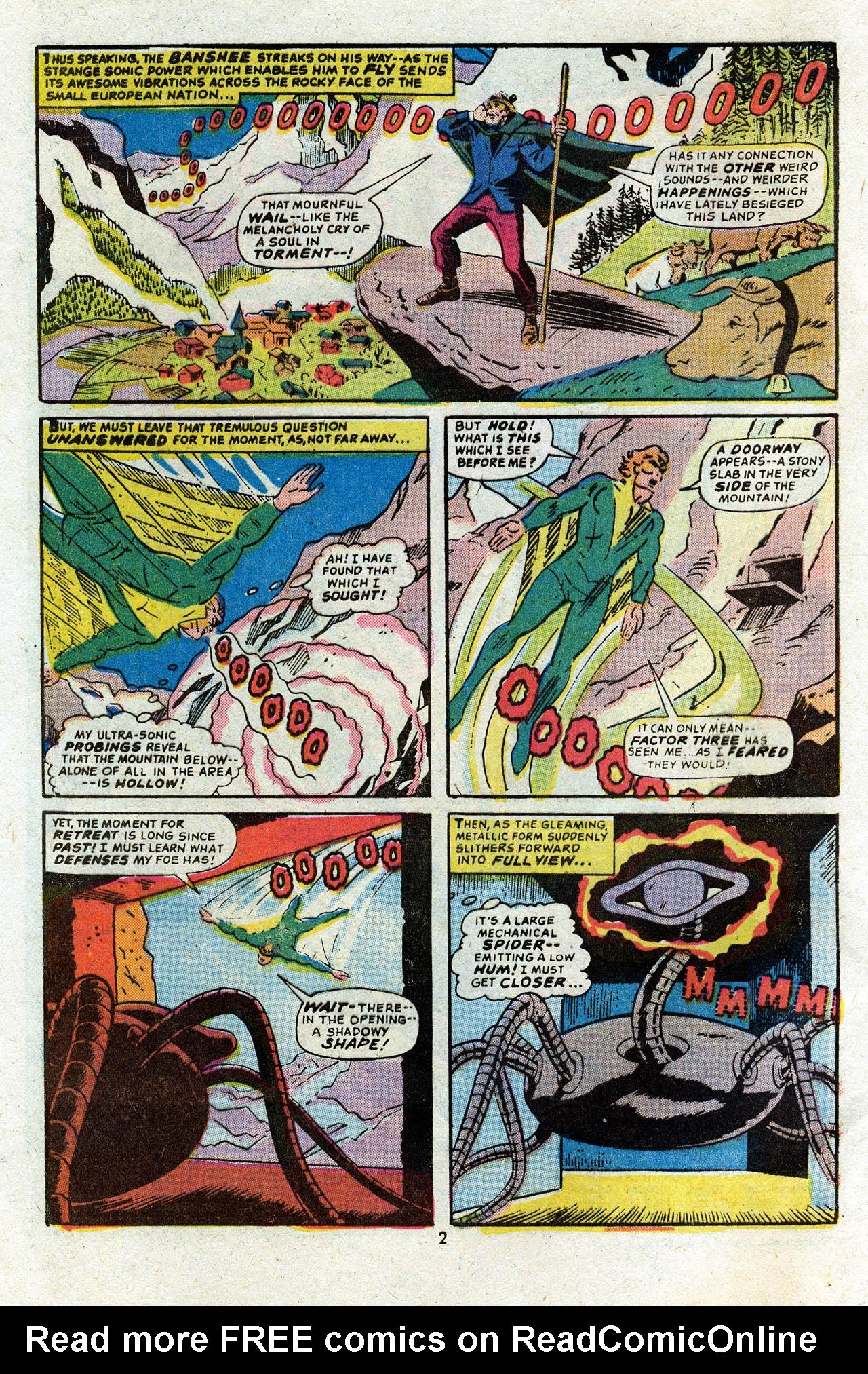 Read online Uncanny X-Men (1963) comic -  Issue #83 - 4