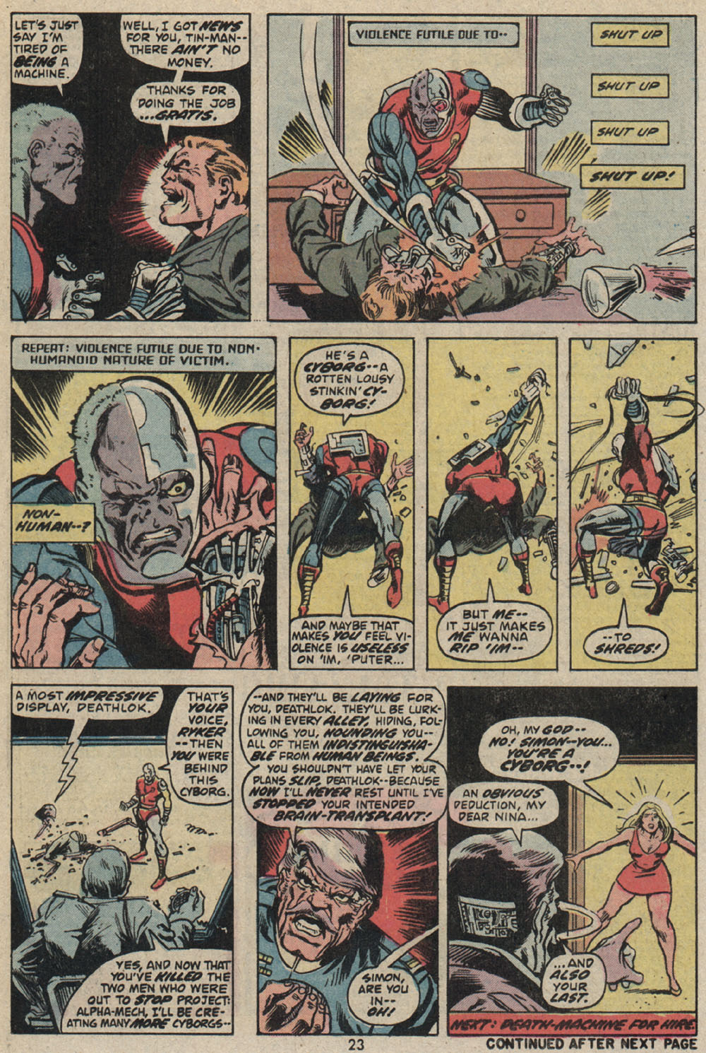 Read online Astonishing Tales (1970) comic -  Issue #25 - 17