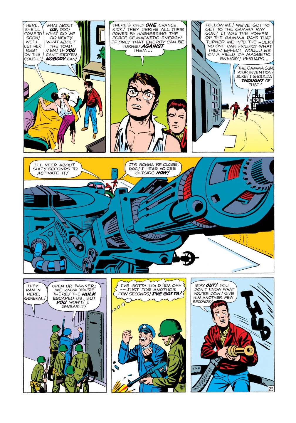 Read online Marvel Masterworks: The Incredible Hulk comic -  Issue # TPB 1 (Part 1) - 51