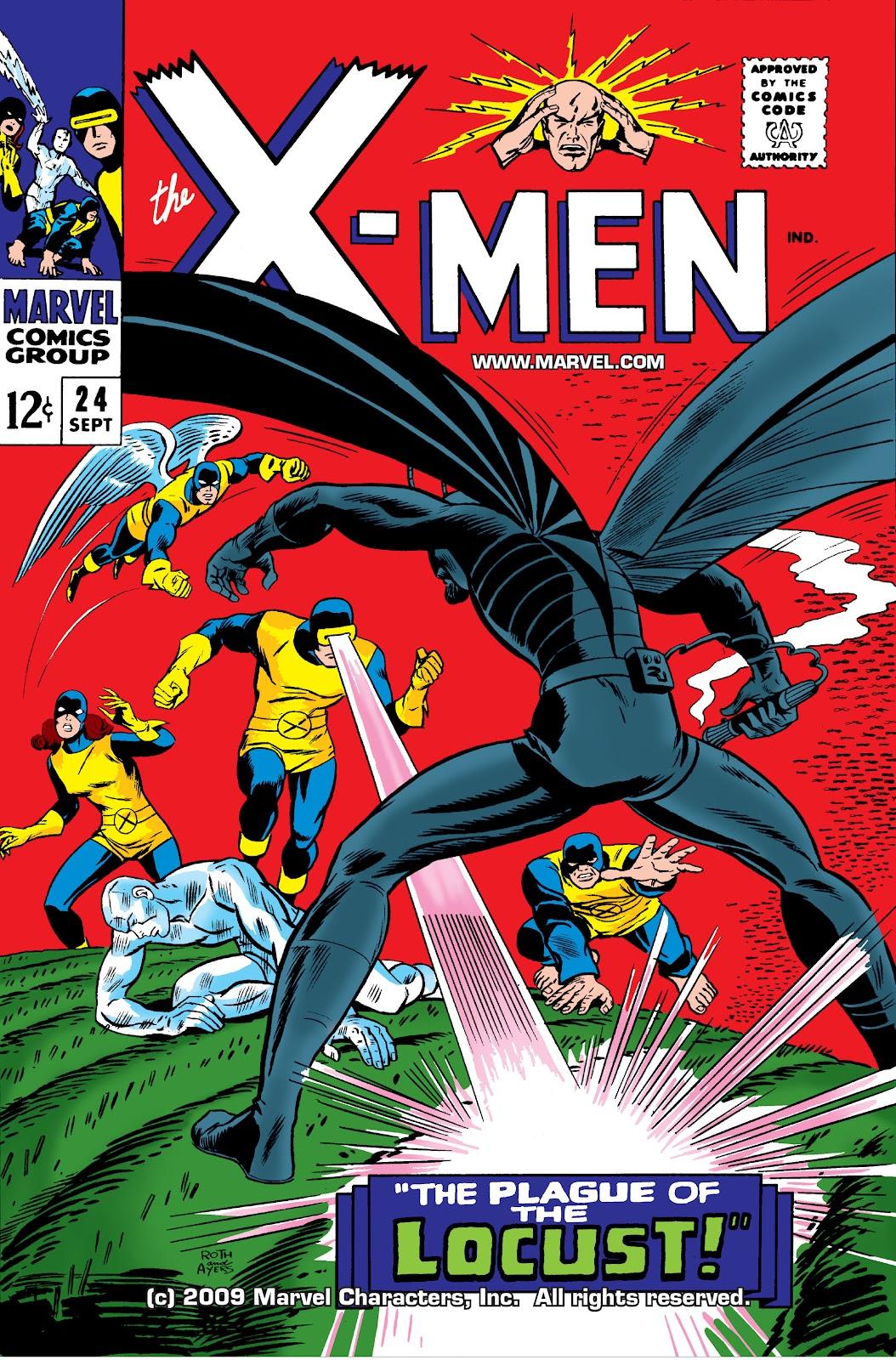 Uncanny X-Men (1963) issue 24 - Page 1