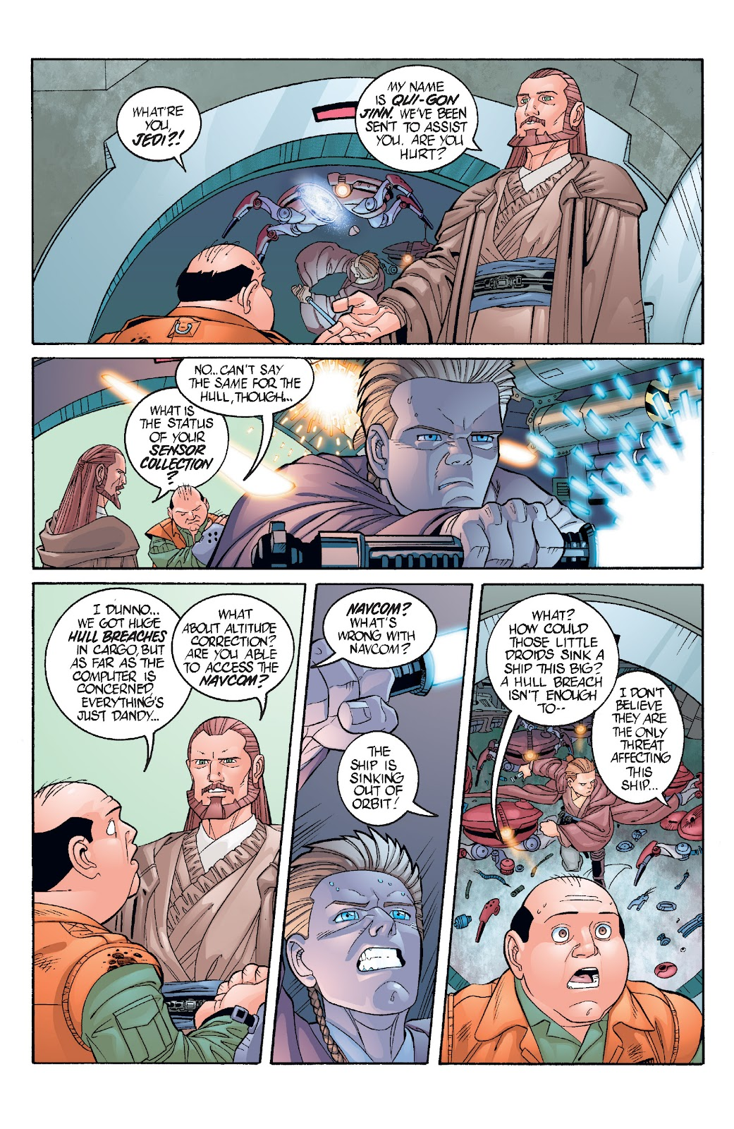 Read online Star Wars Legends: Rise of the Sith - Epic Collection comic -  Issue # TPB 1 (Part 3) - 37