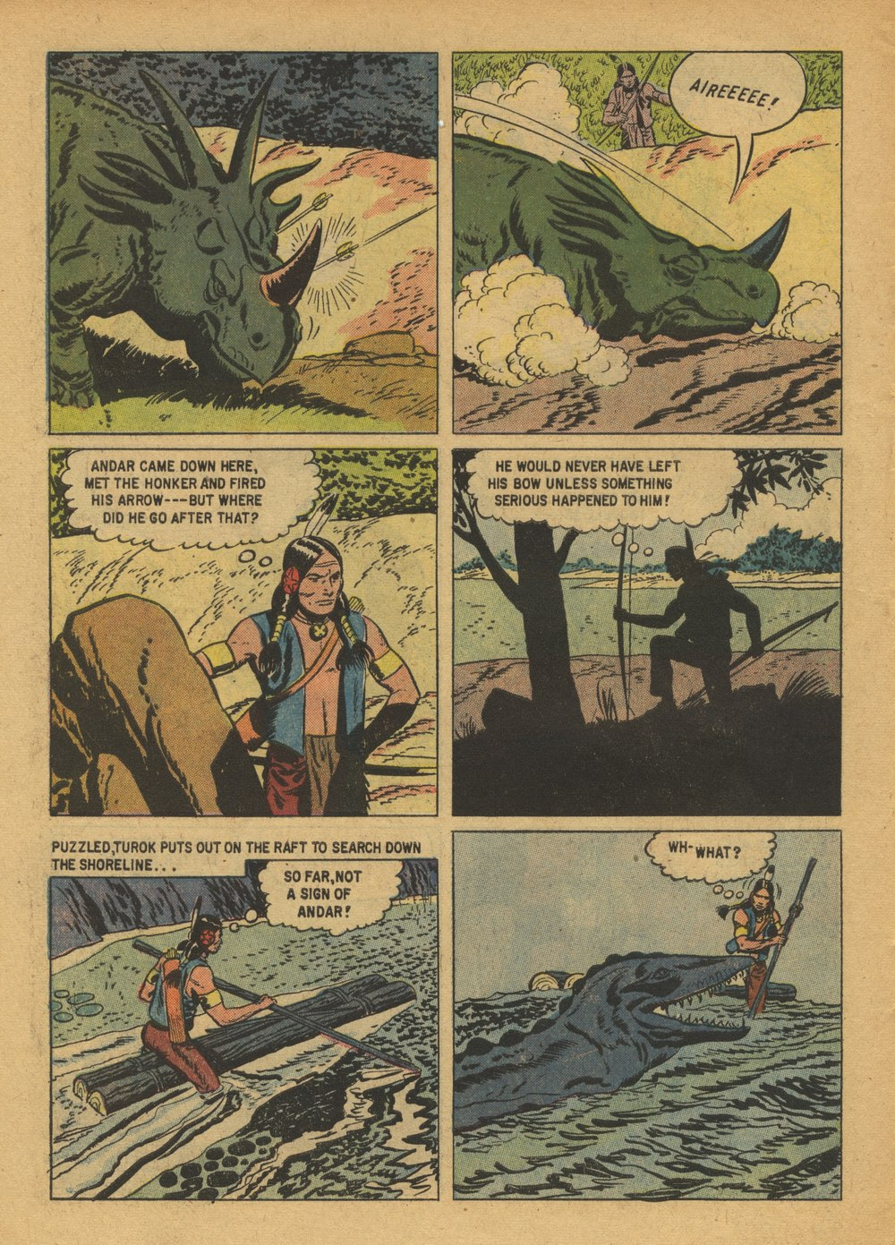 Read online Turok, Son of Stone comic -  Issue #15 - 6